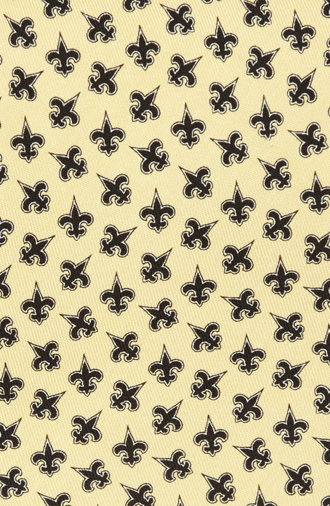 Alternate Image 2  - Vineyard Vines New Orleans Saints Print Tie