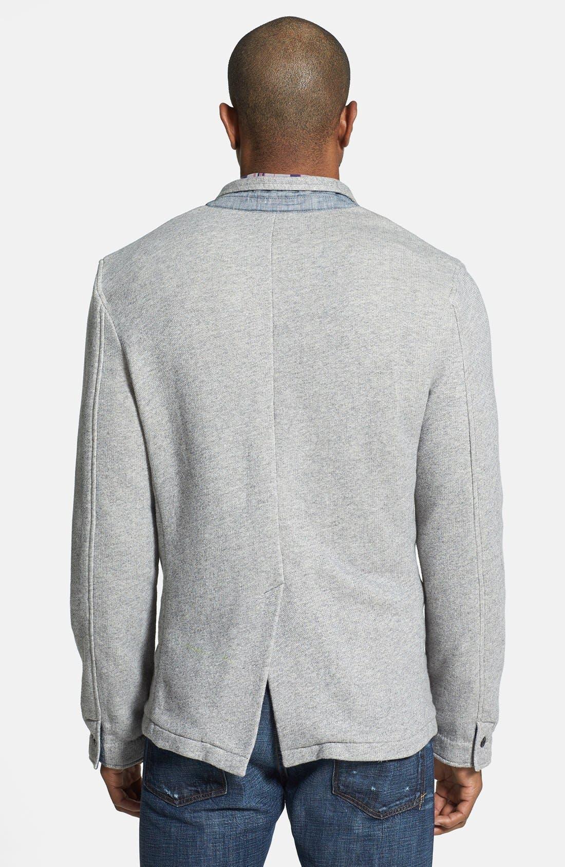 Alternate Image 2  - Grayers Trim Fit Knit Sport Coat