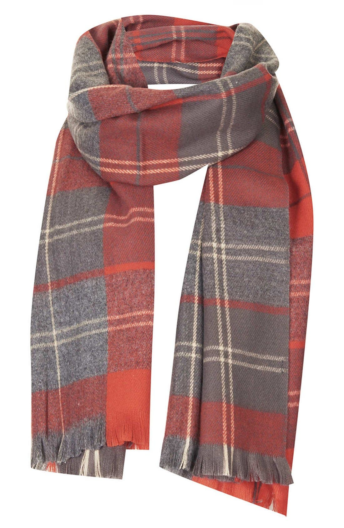 Alternate Image 1 Selected - Topshop 'Traditional Check - Small' Scarf