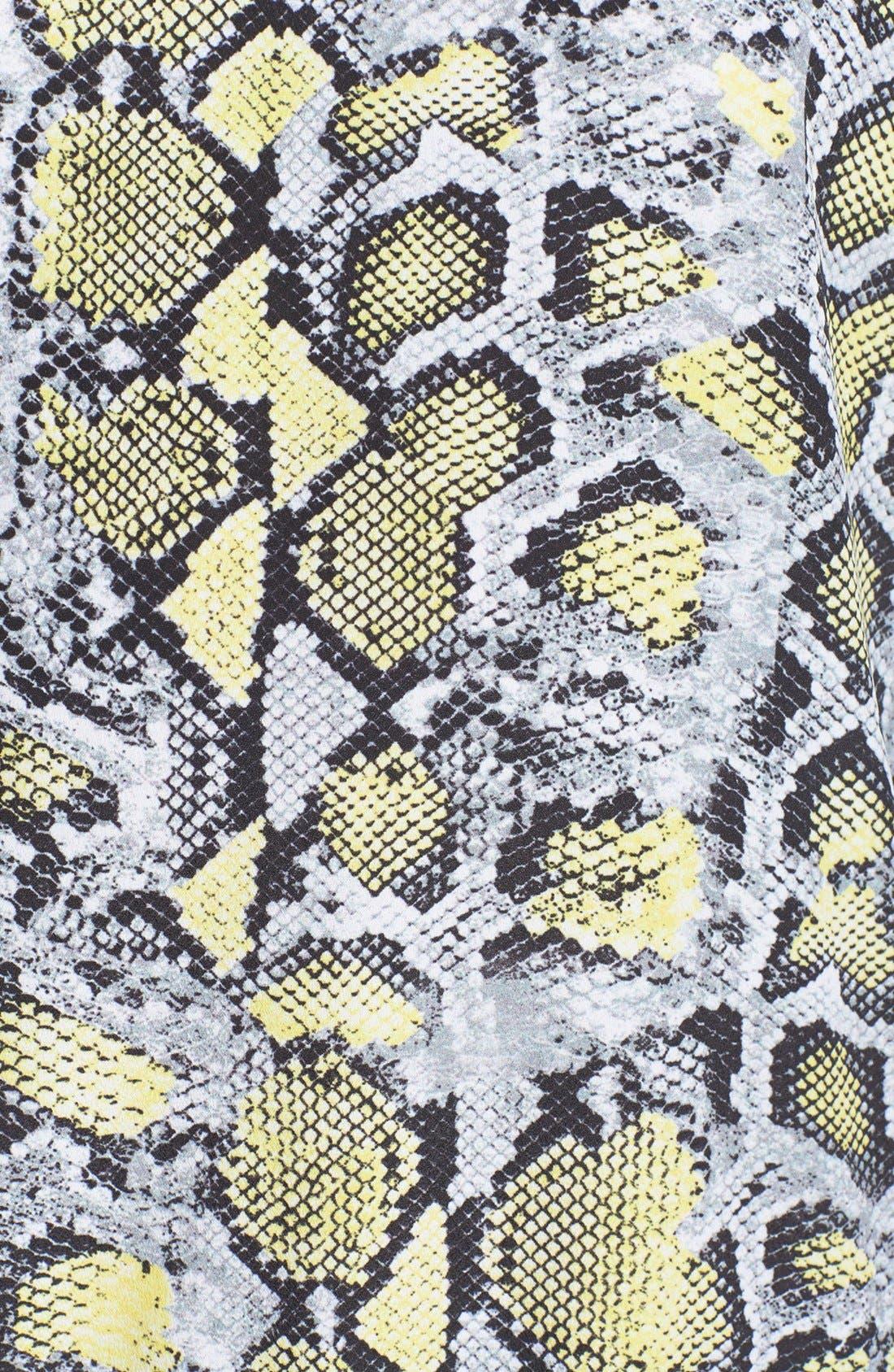 Alternate Image 3  - WAYF Python Print Hoodie