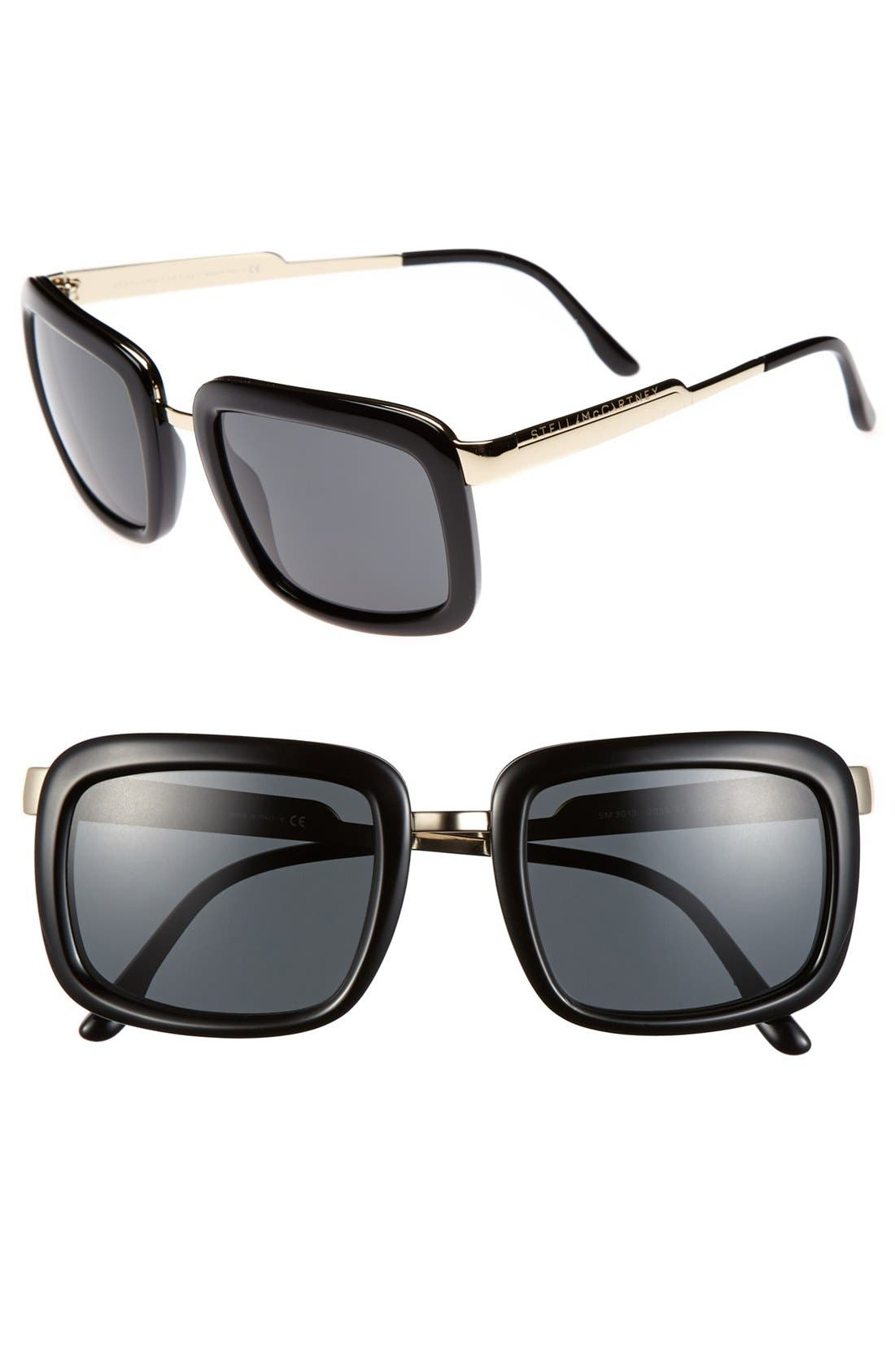 Main Image - Stella McCartney 52mm Retro Sunglasses