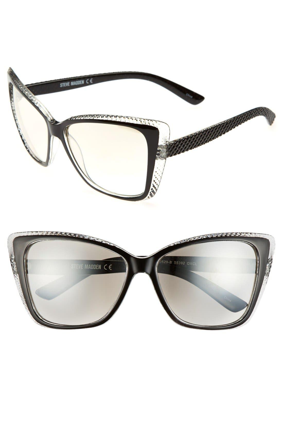 Alternate Image 1 Selected - Steve Madden 57mm Cat Eye Sunglasses