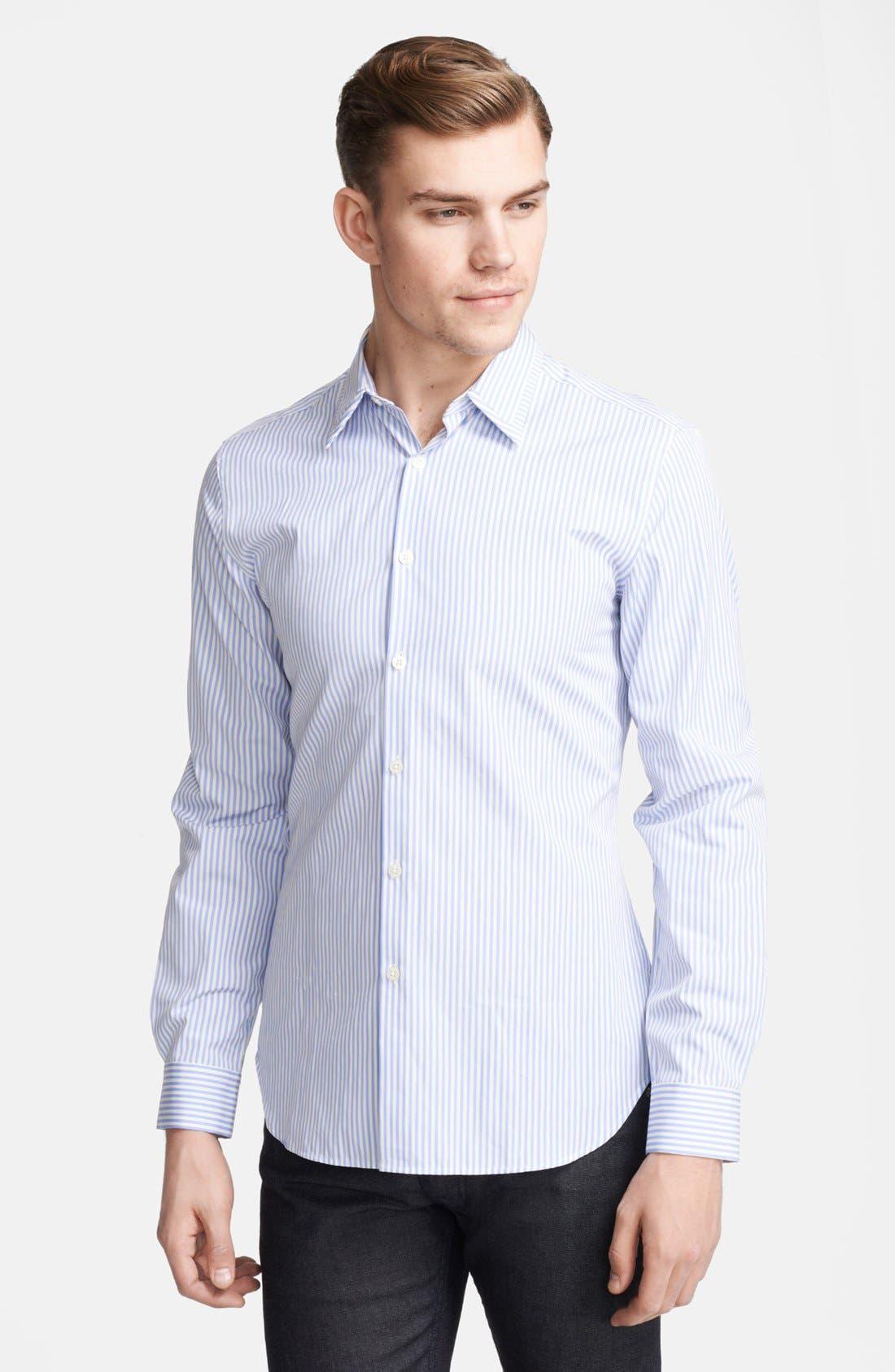 Main Image - PS Paul Smith Slim Fit Stripe Sport Shirt