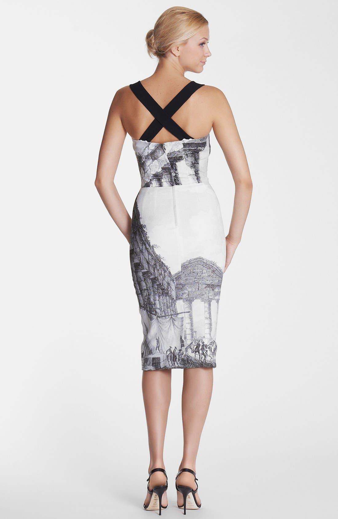 Alternate Image 2  - Dolce&Gabbana Temple Print Tank Dress