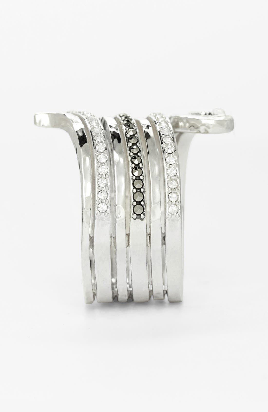 Alternate Image 2  - Judith Jack Hammered Ring