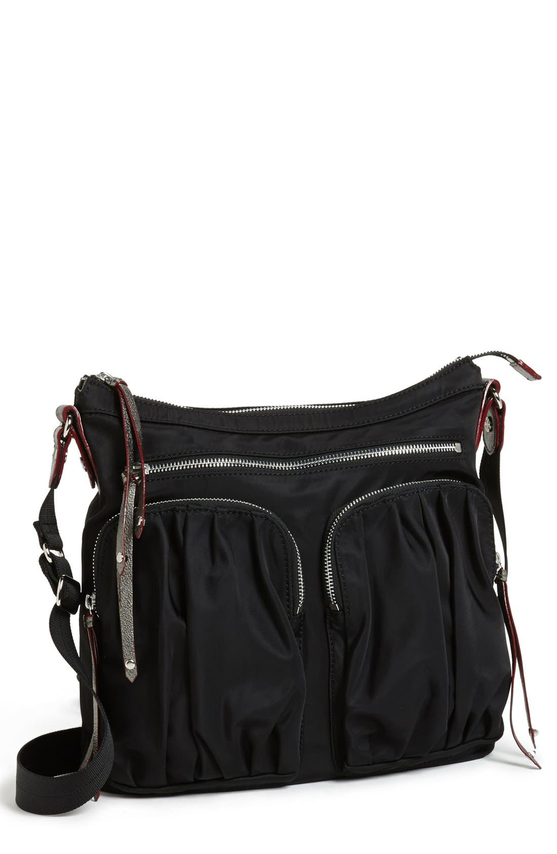 Alternate Image 1 Selected - MZ Wallace 'Mia' Bedford Nylon Crossbody Bag