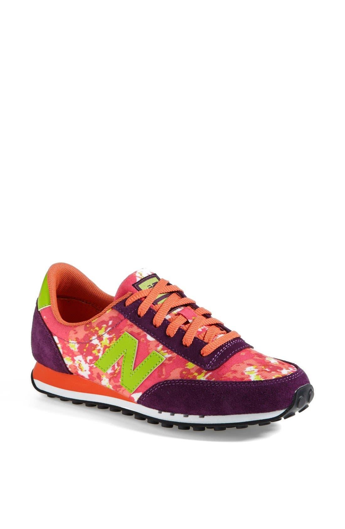Alternate Image 1 Selected - New Balance '410 Floral Blur' Sneaker (Women)