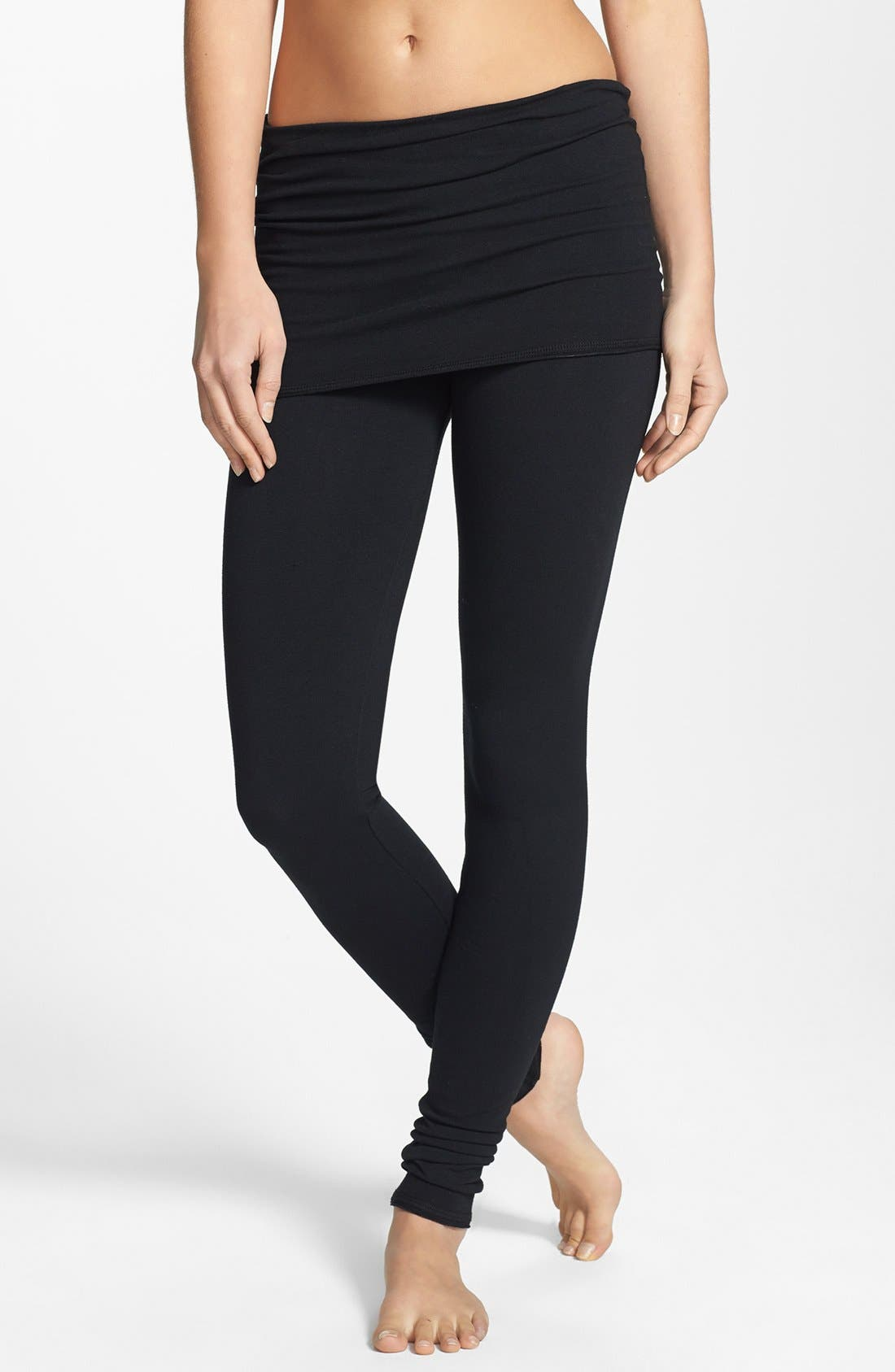 Alternate Image 1 Selected - Solow Skirted Yoga Leggings