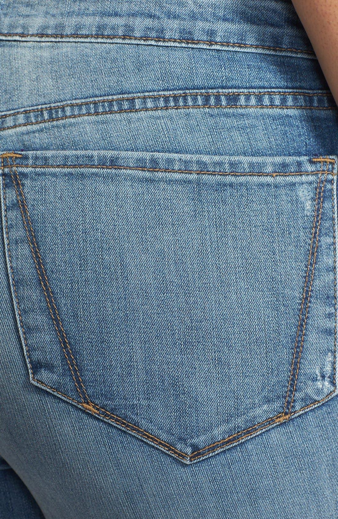 Alternate Image 3  - NYDJ 'Audrey' Stretch Skinny Ankle Jeans (Plus Size)