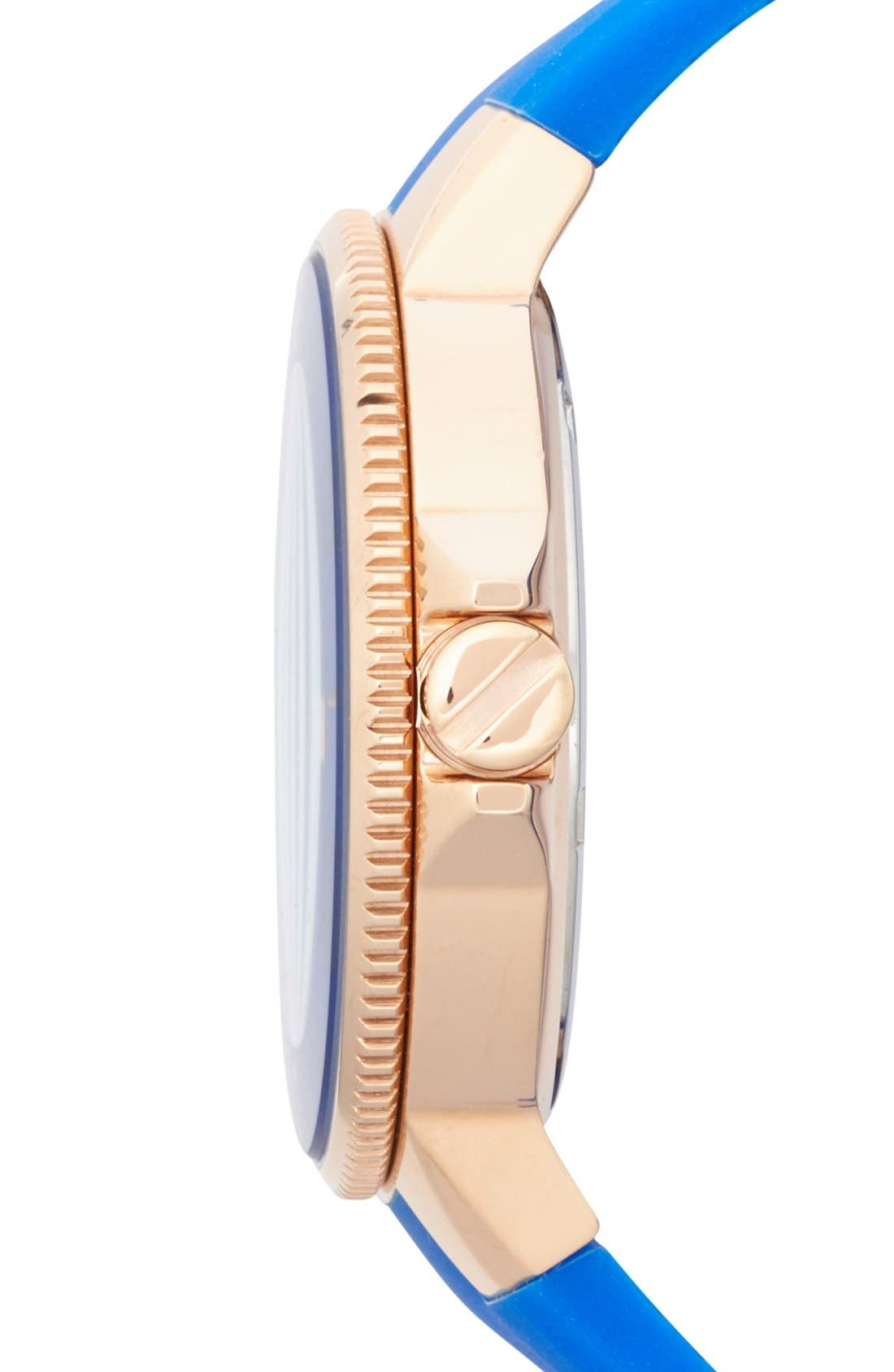 Alternate Image 3  - Vince Camuto Silicone Strap Watch, 38mm