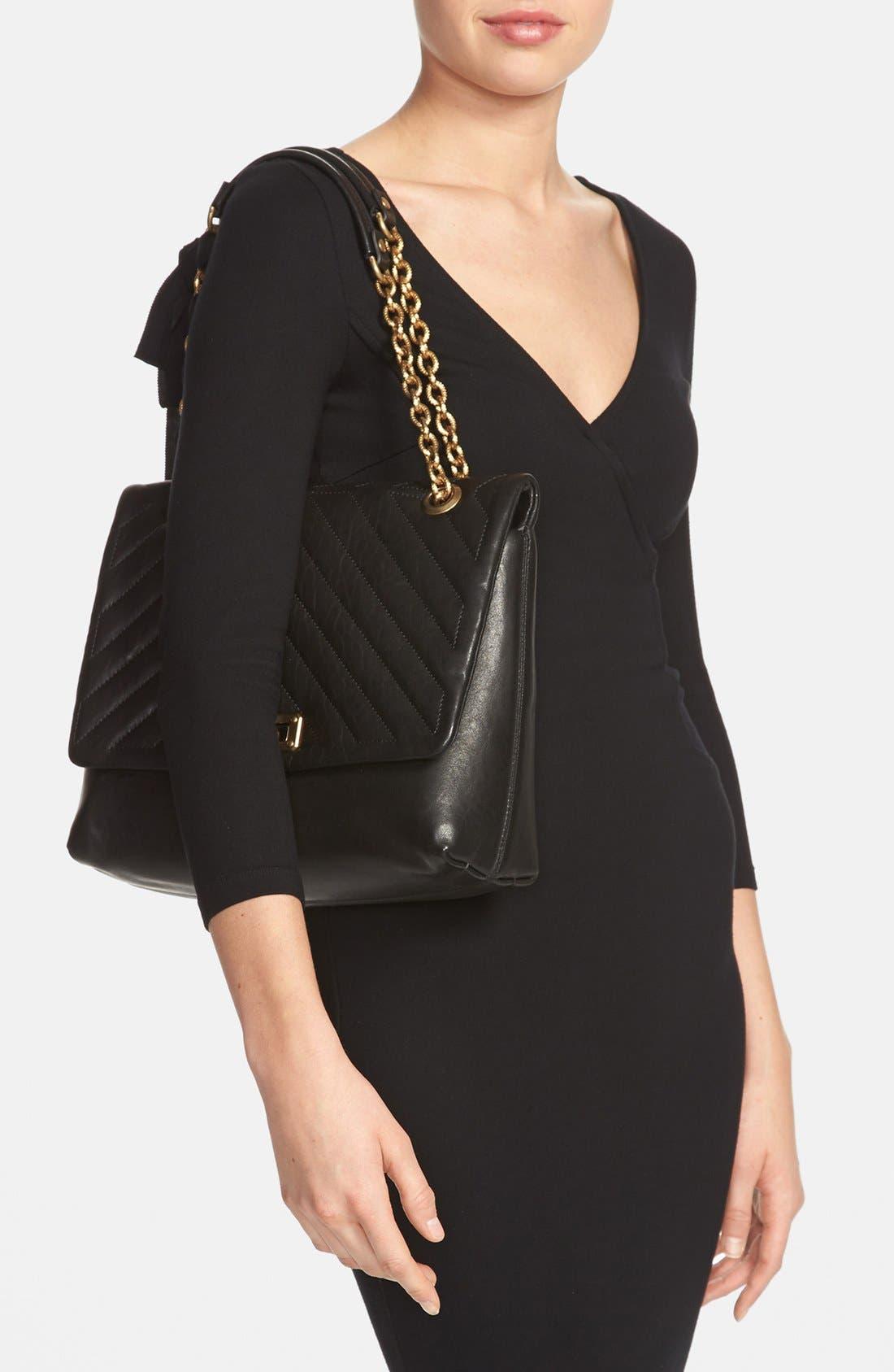 Alternate Image 2  - Lanvin 'Happy' Quilted Flap Shoulder Bag