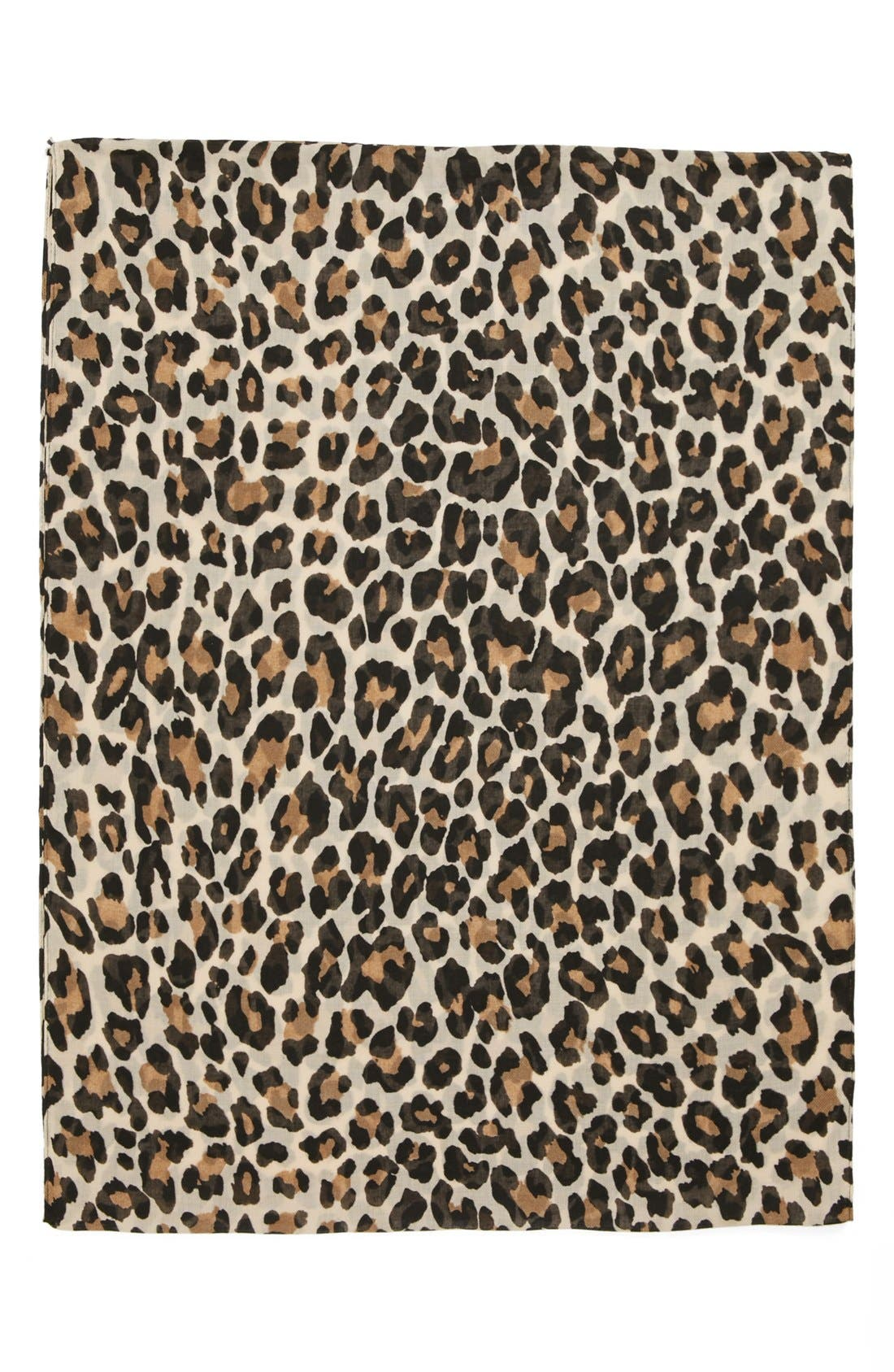 Alternate Image 2  - Evelyn K Cheetah Print Infinity Scarf