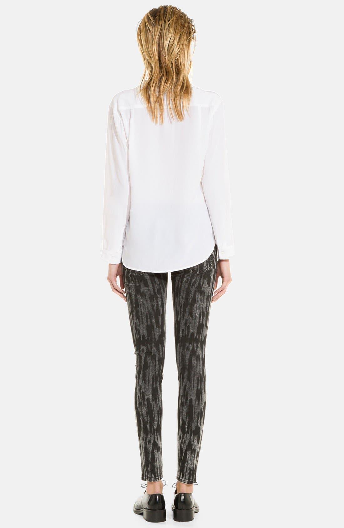 Alternate Image 2  - sandro 'Peintre' Print Pants