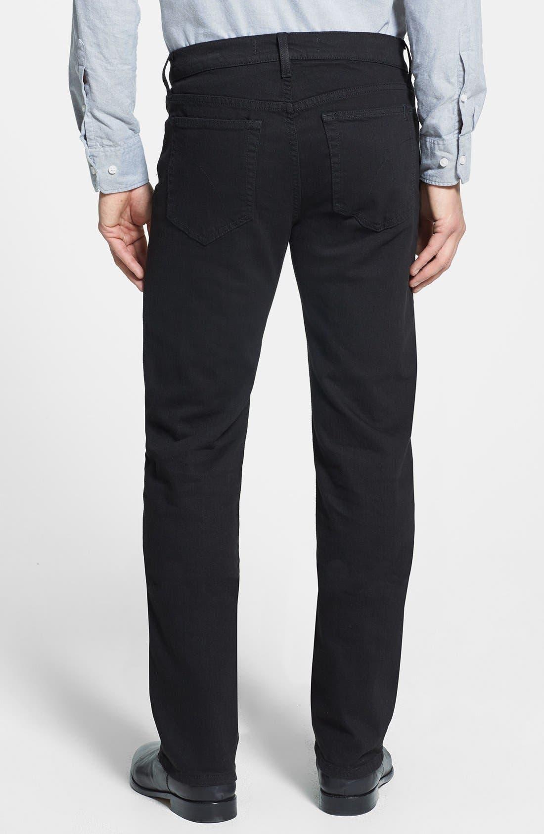 Alternate Image 2  - Joe's 'Classic' Straight Leg Jeans (Jet Black)