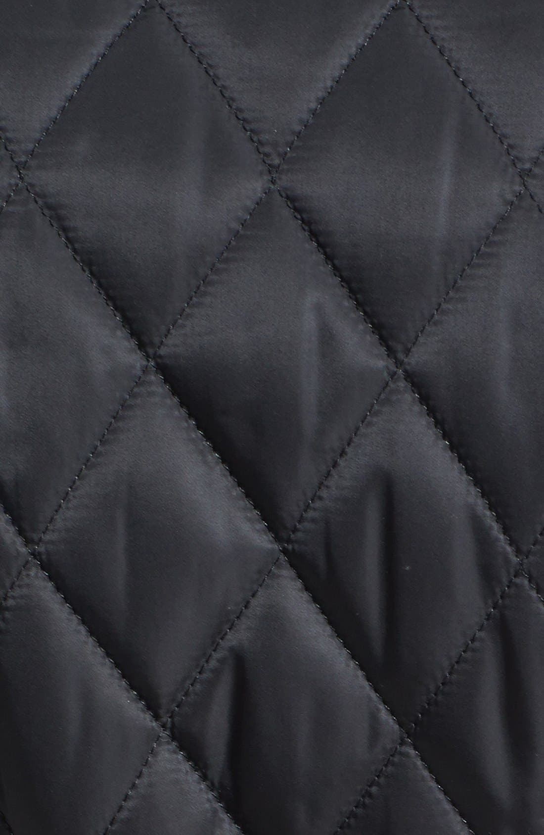 Alternate Image 3  - Vince Camuto Belted Quilted Jacket