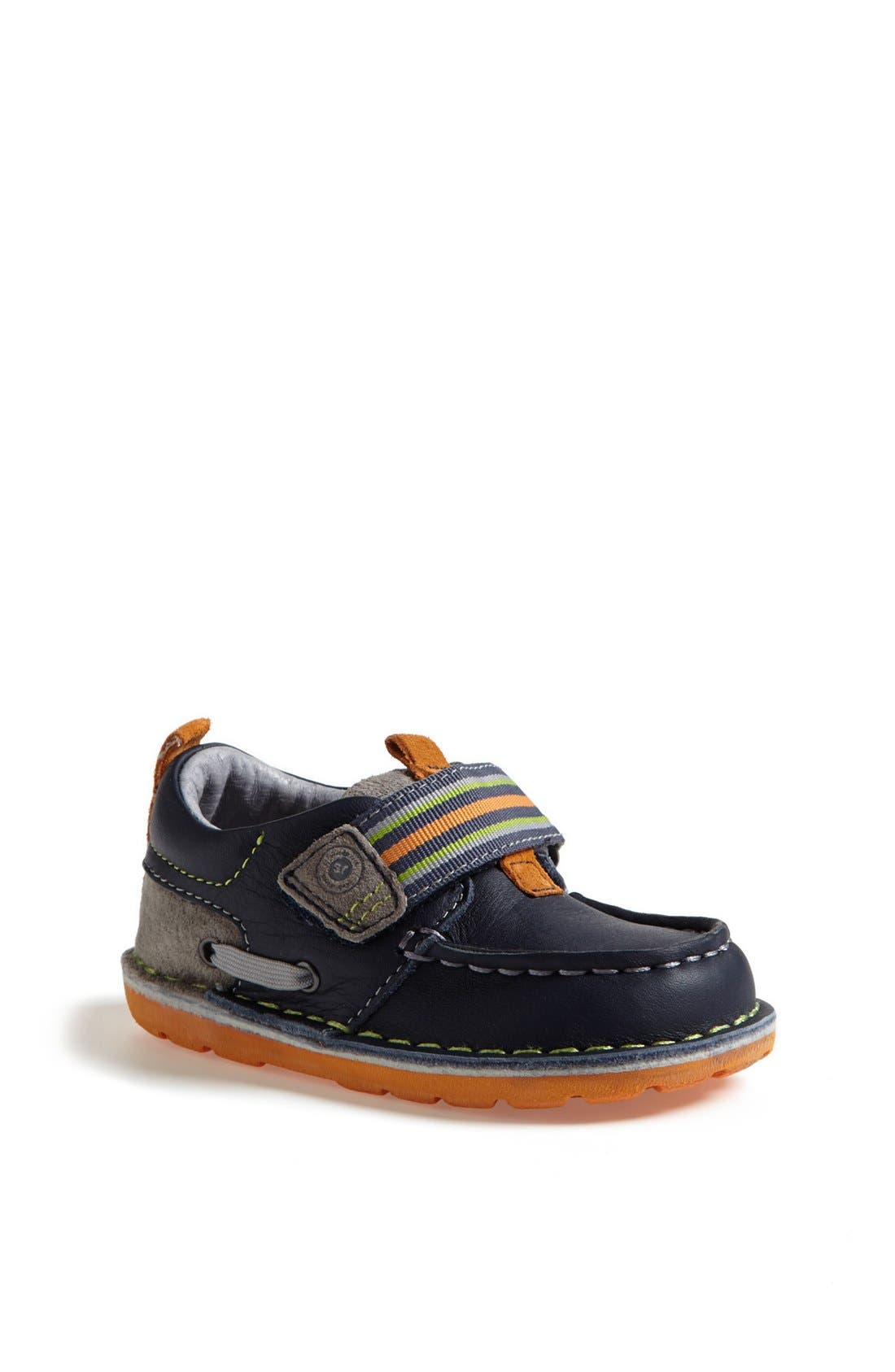 Alternate Image 1 Selected - Stride Rite 'Medallion Collection - Dane' Slip-On (Baby, Walker & Toddler)