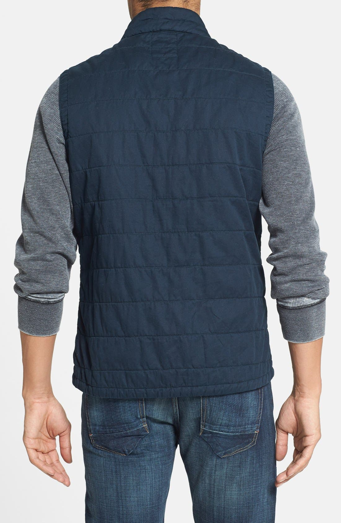 Alternate Image 2  - Relwen 'Flyweight' Cotton Twill Vest