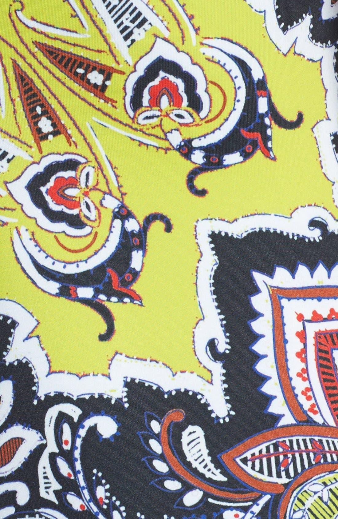 Alternate Image 3  - Clover Canyon 'Havana' Print Scuba Body-Con Dress