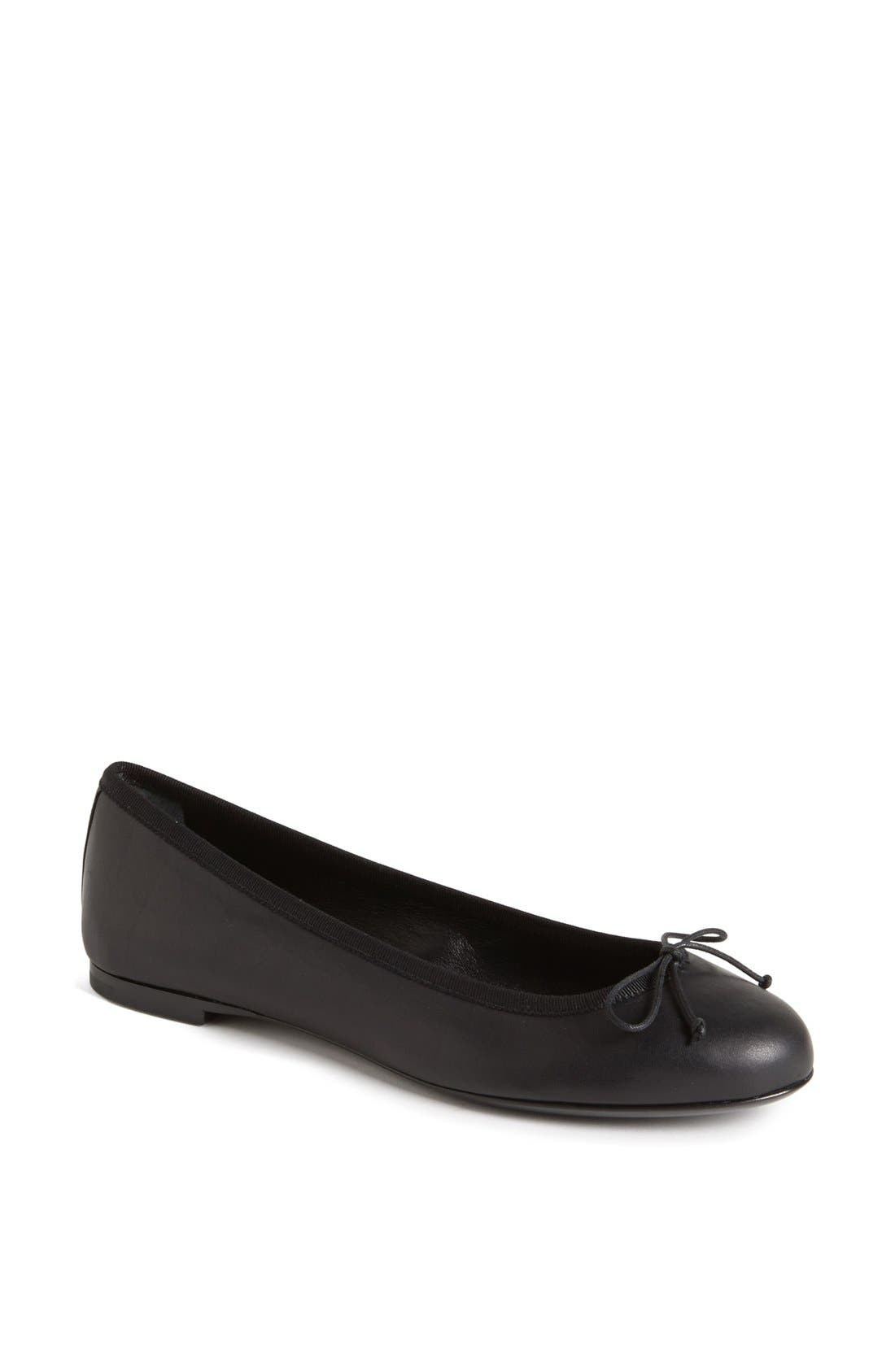 Main Image - Saint Laurent 'Dance' Leather Ballet Flat