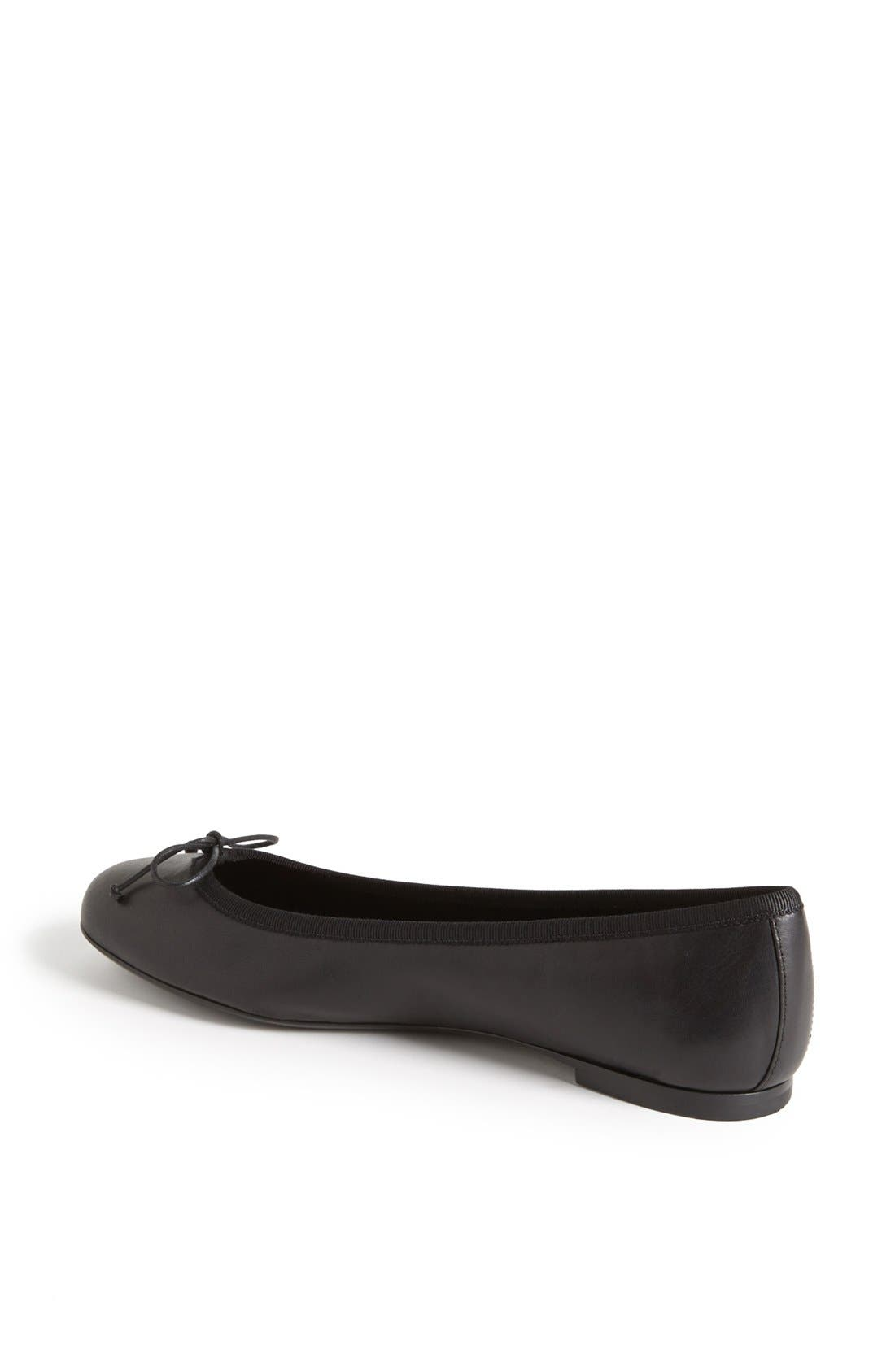 Alternate Image 2  - Saint Laurent 'Dance' Leather Ballet Flat