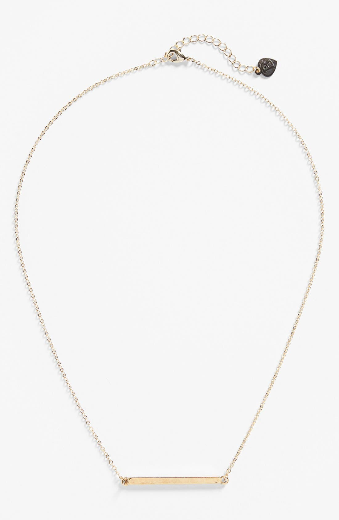 Alternate Image 1 Selected - Bonnie Jonas Bar Necklace