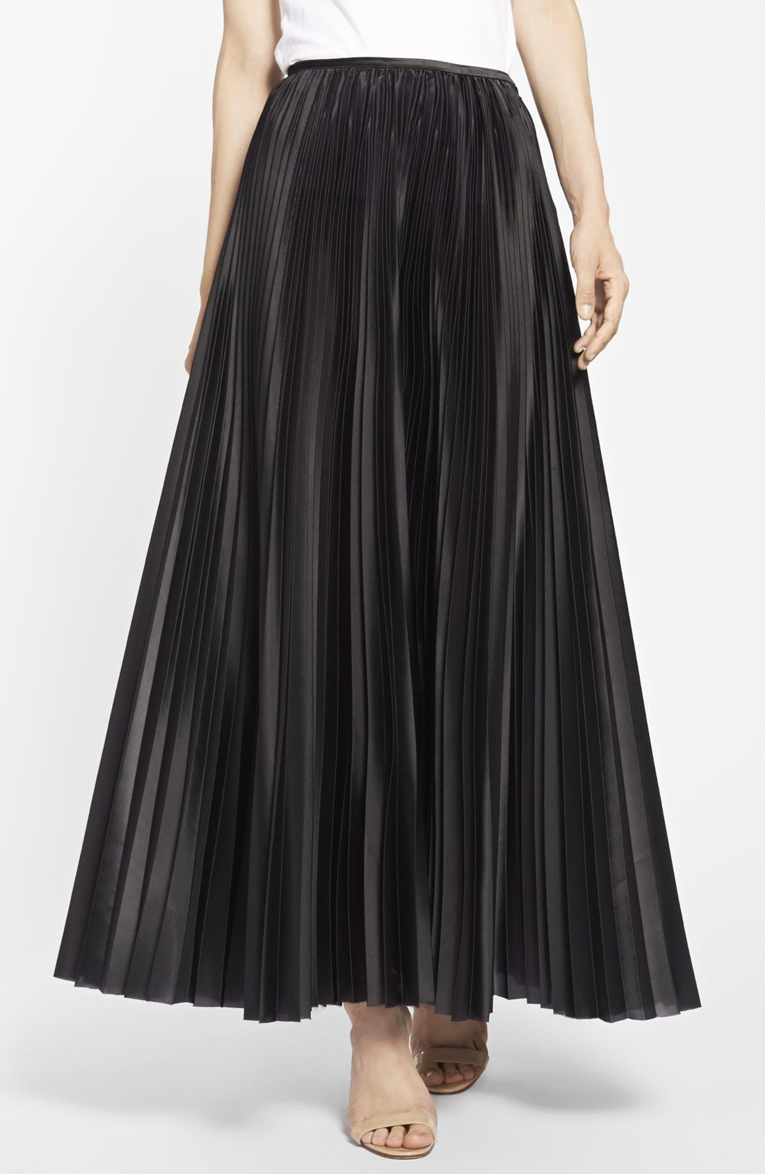 Alternate Image 1 Selected - Christopher Kane Knife Pleat Skirt