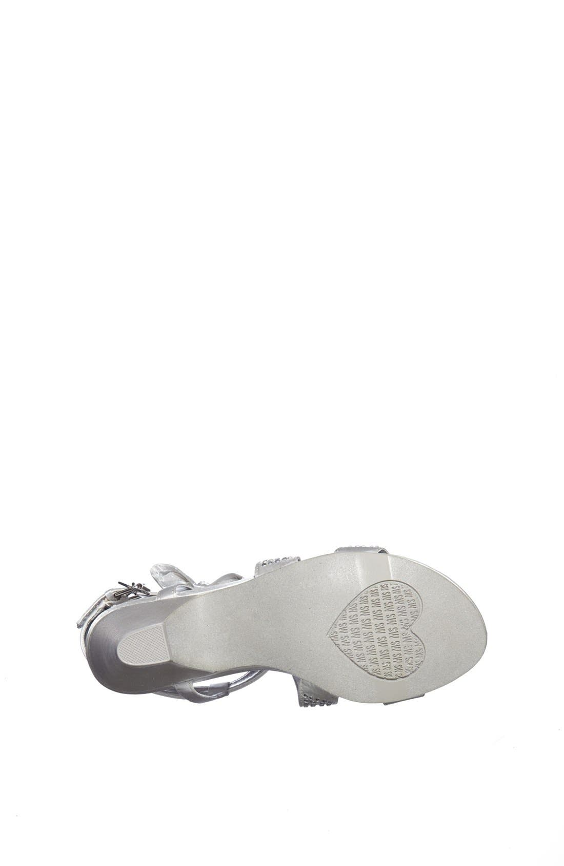 Alternate Image 4  - Stuart Weitzman 'Verna Janie' Sandal (Little Kid & Big Kid)
