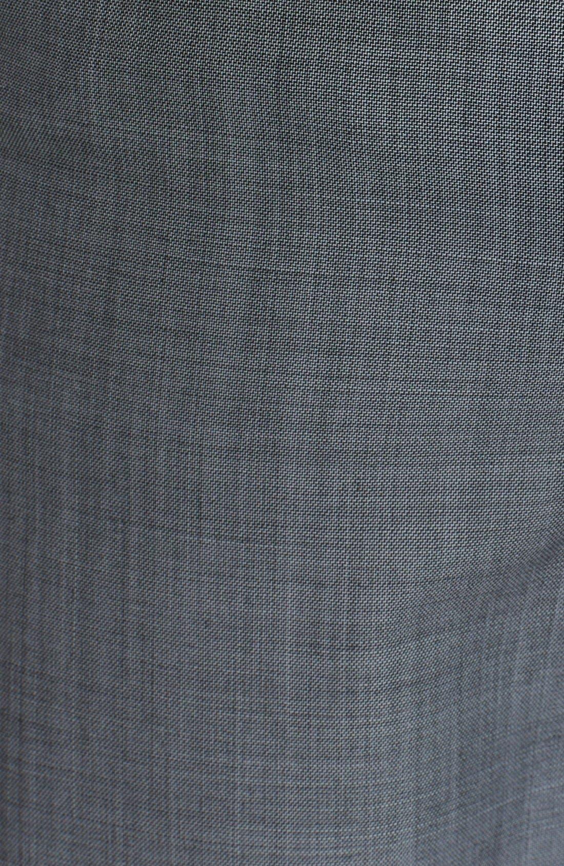 Alternate Image 3  - Alexander Wang Layered Wool Shorts
