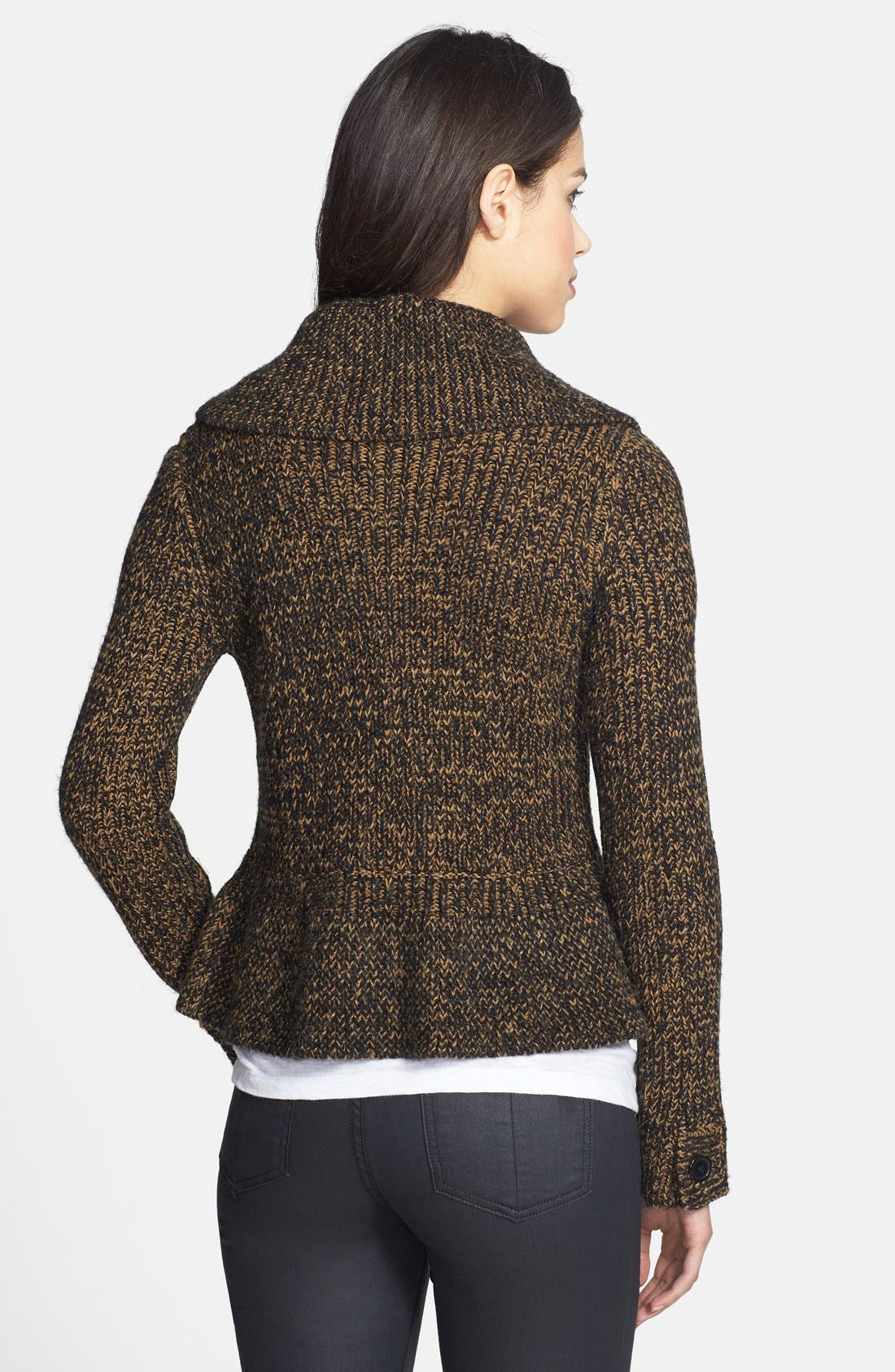 Alternate Image 2  - Adrianna Papell Double Breasted Sweater Jacket