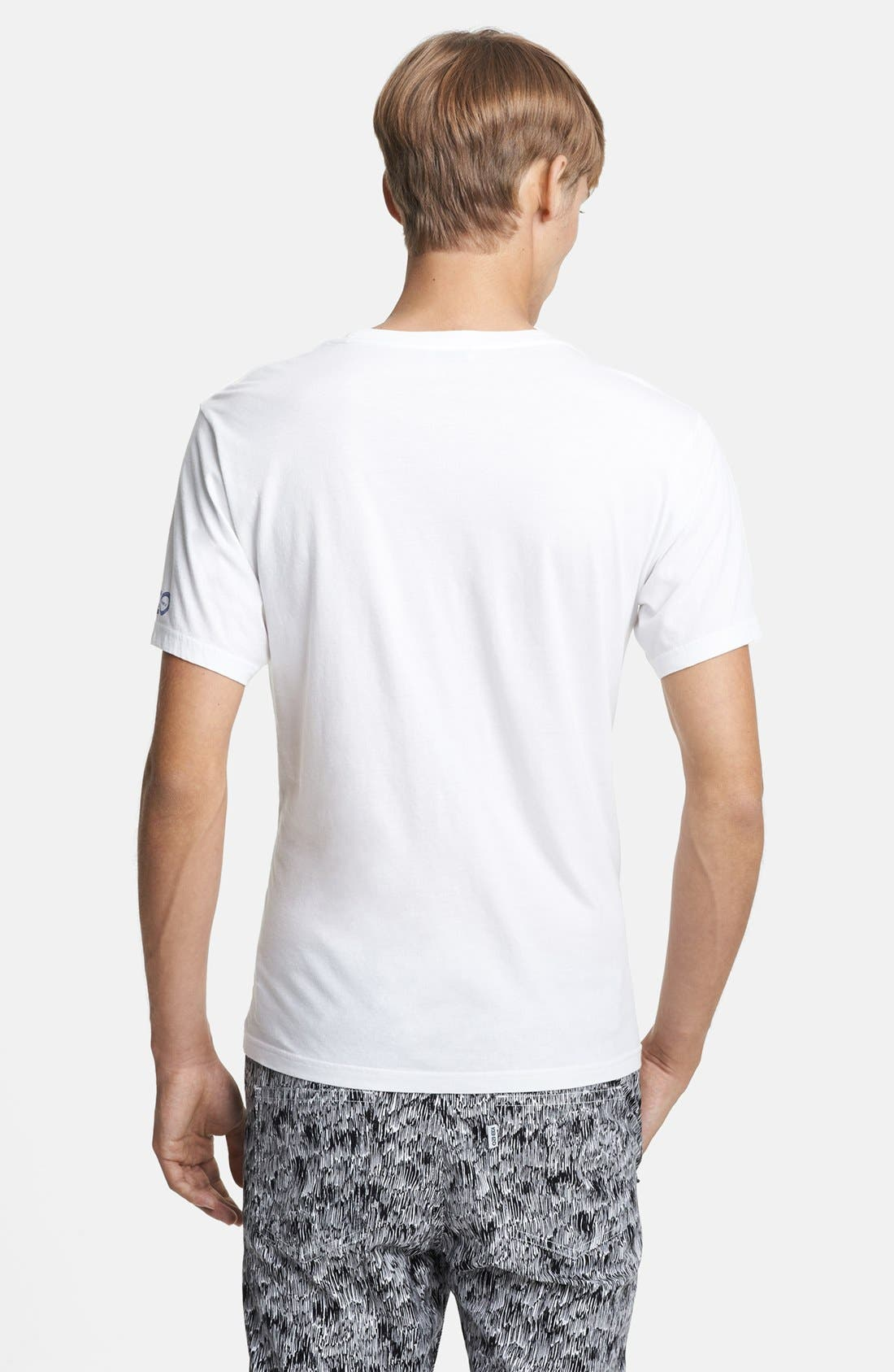 Alternate Image 2  - KENZO Scribble Print Crewneck T-Shirt