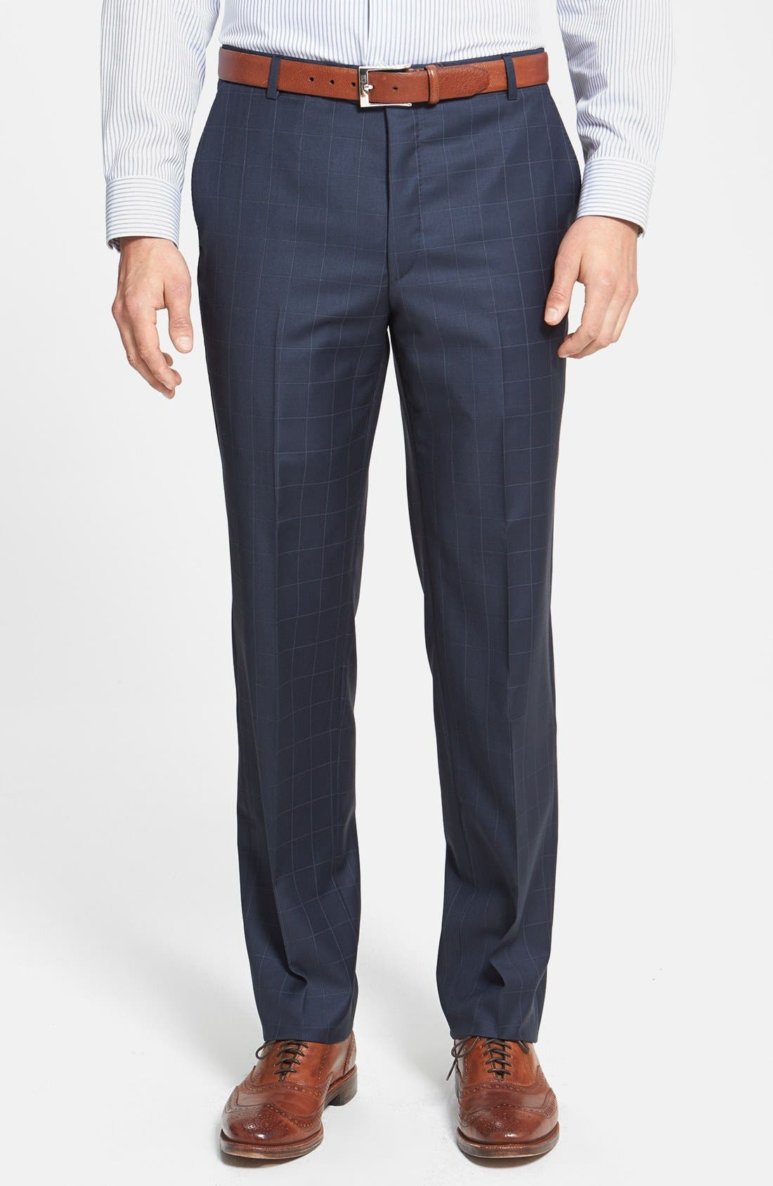 Alternate Image 4  - BEACON WINDOWPANE 2BTN SUIT