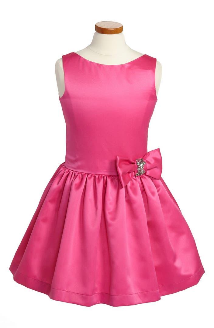 Zoe Ltd Bow Embellished Dress Big Girls Nordstrom