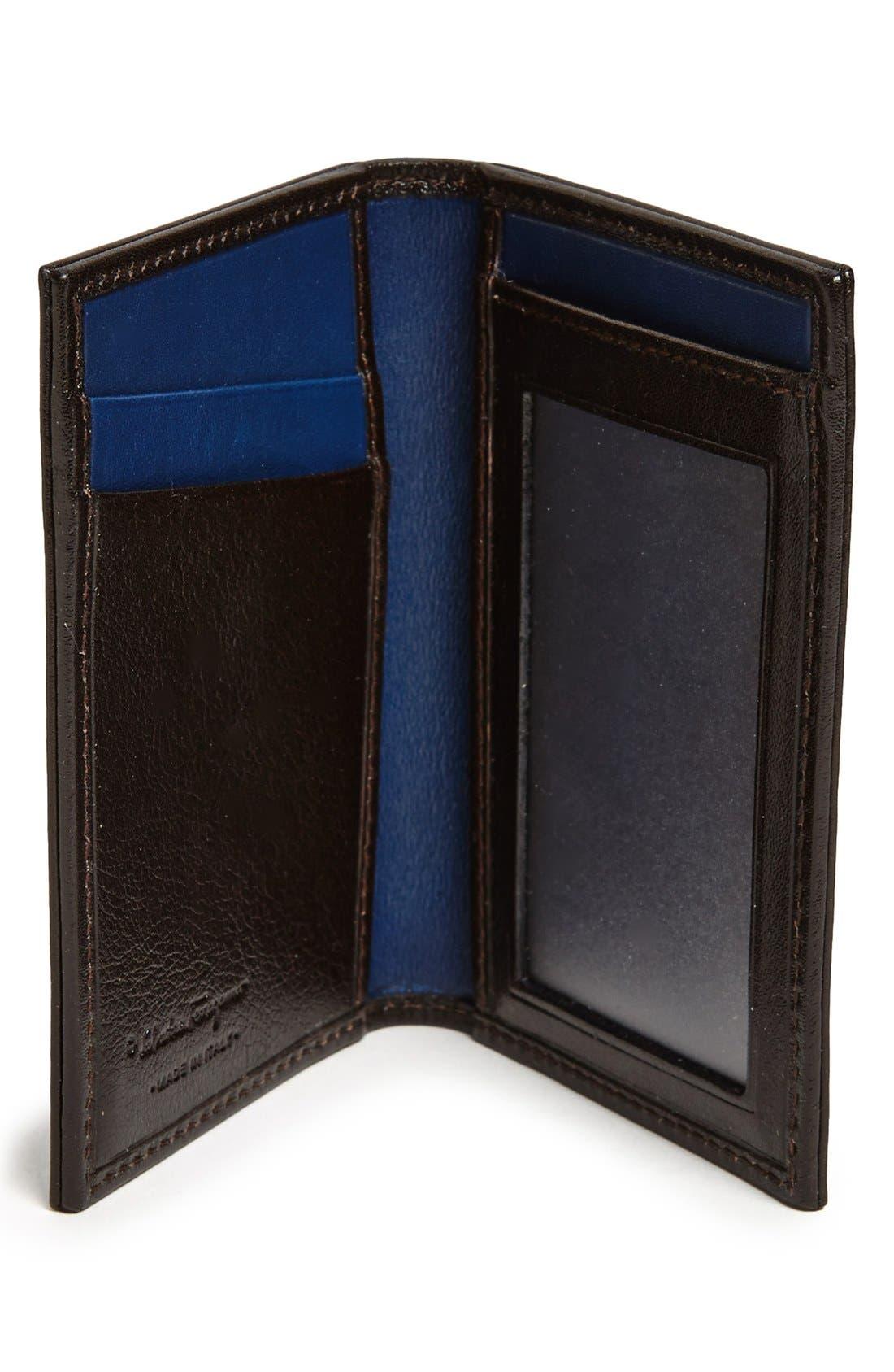 Alternate Image 2  - Salvatore Ferragamo 'New Crackle' Leather Wallet