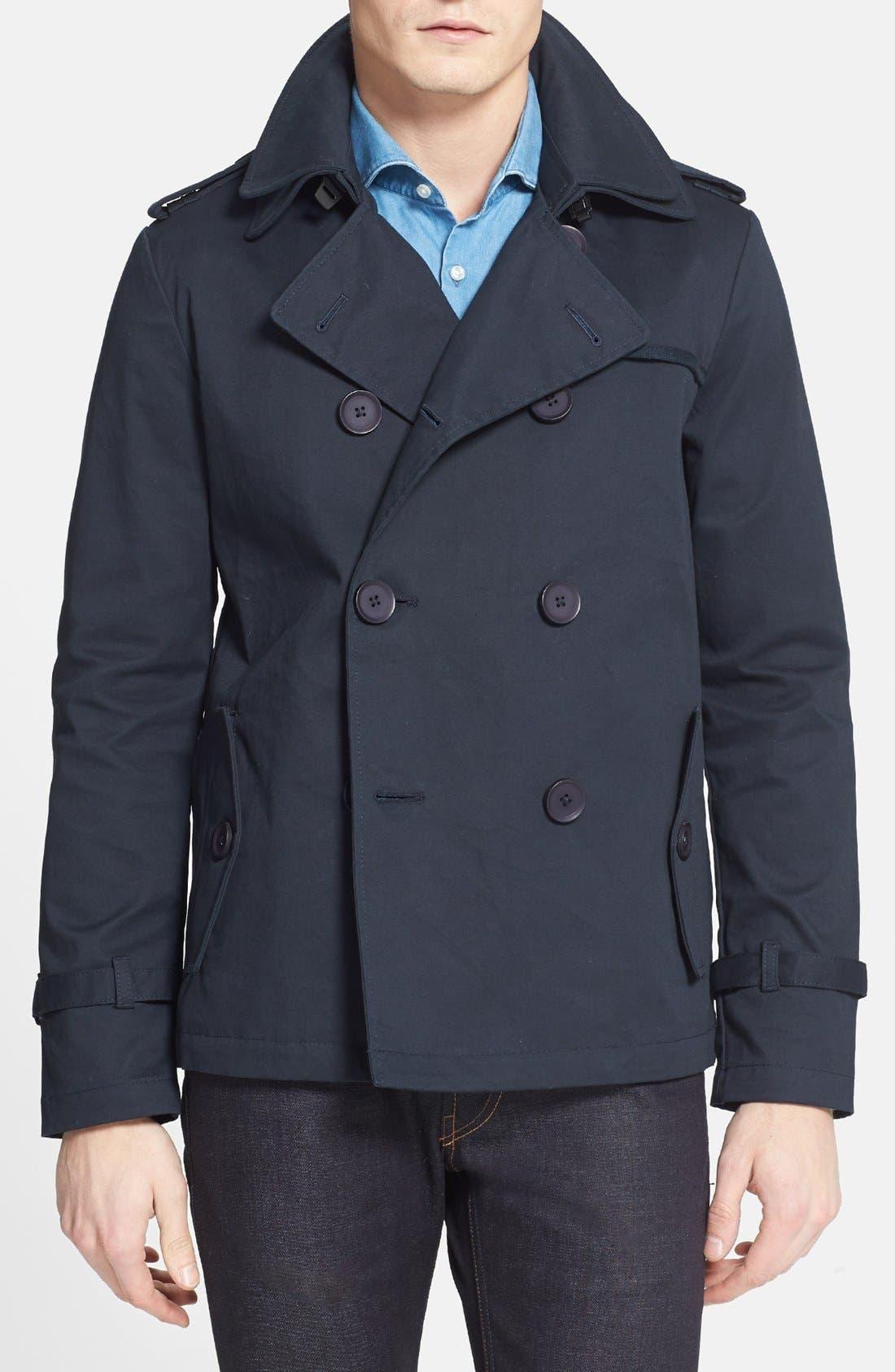 Main Image - Moods of Norway 'Jan Engil' Double Breasted Cotton Jacket