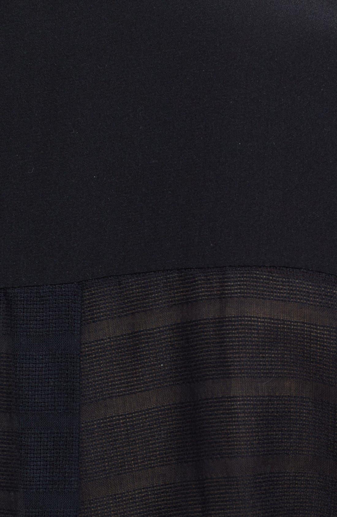 Alternate Image 3  - Veronica Beard Sleeveless Cotton Voile Shirt