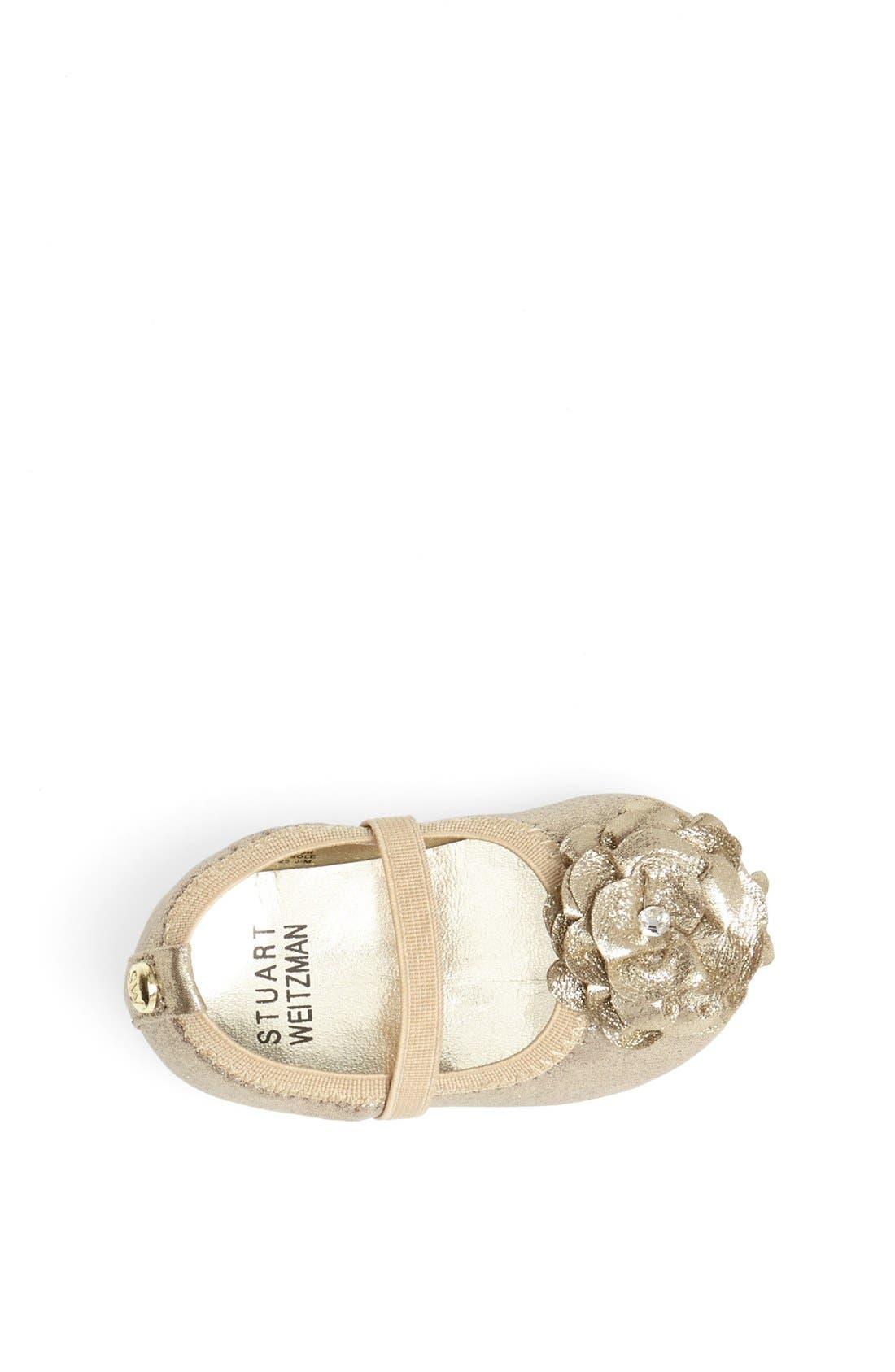 Alternate Image 3  - Stuart Weitzman 'Pali' Crib Shoe (Baby)