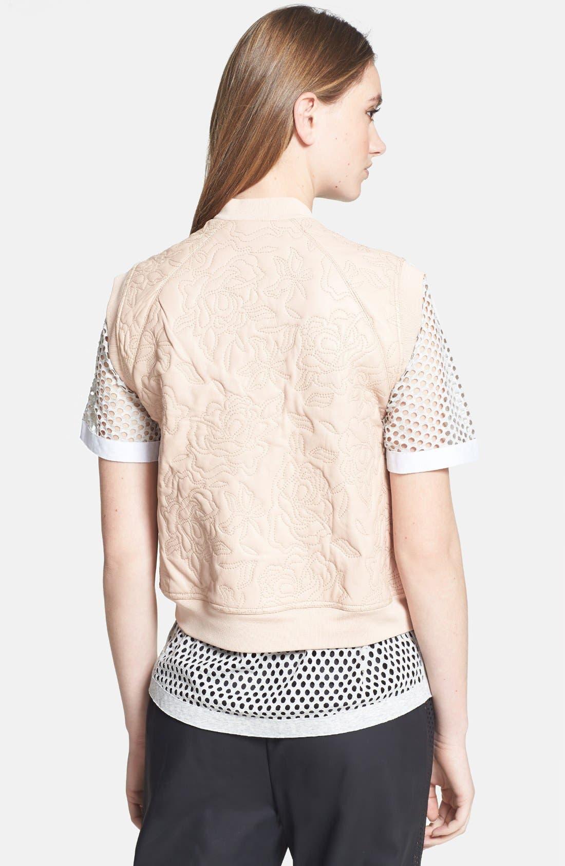Alternate Image 2  - Rebecca Taylor Quilted Leather Vest