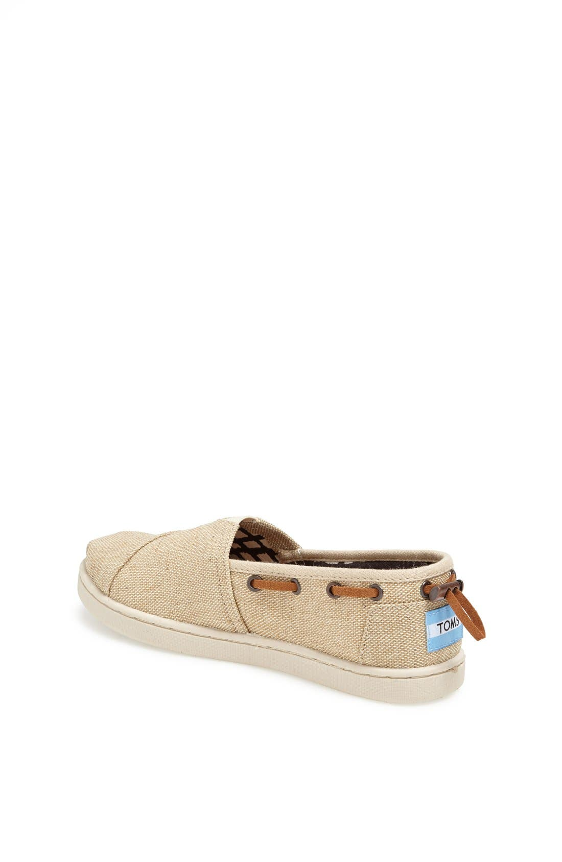 Alternate Image 2  - TOMS 'Bimini - Youth' Slip-On (Toddler, Little Kid & Big Kid)