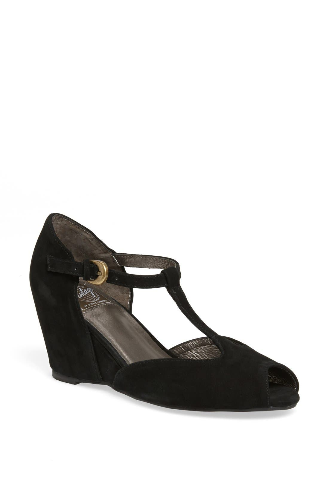 Alternate Image 1 Selected - Jeffrey Campbell 'Irene' Wedge Pump