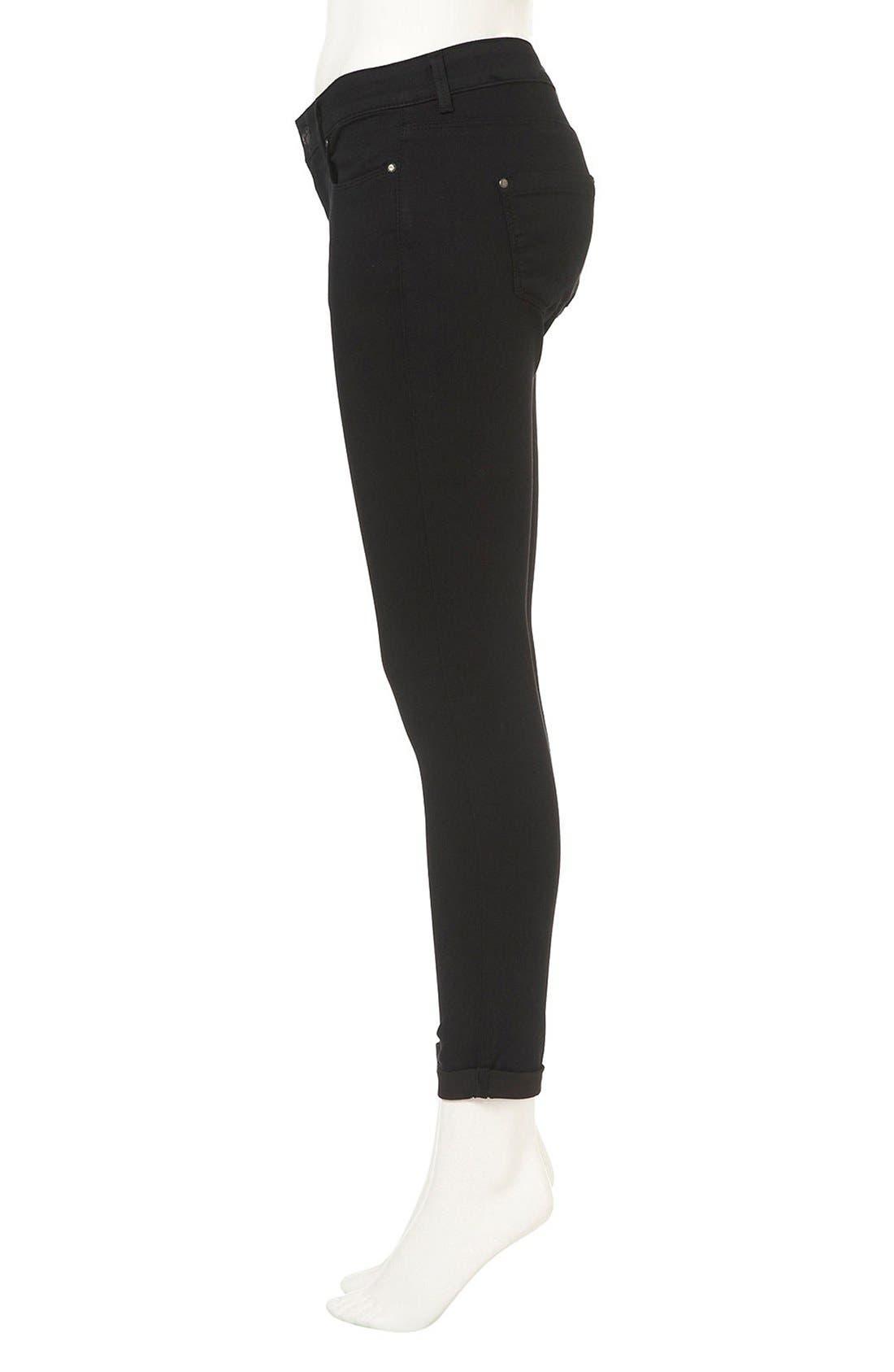 Alternate Image 5  - Topshop Moto 'Leigh' Skinny Jeans (Petite)
