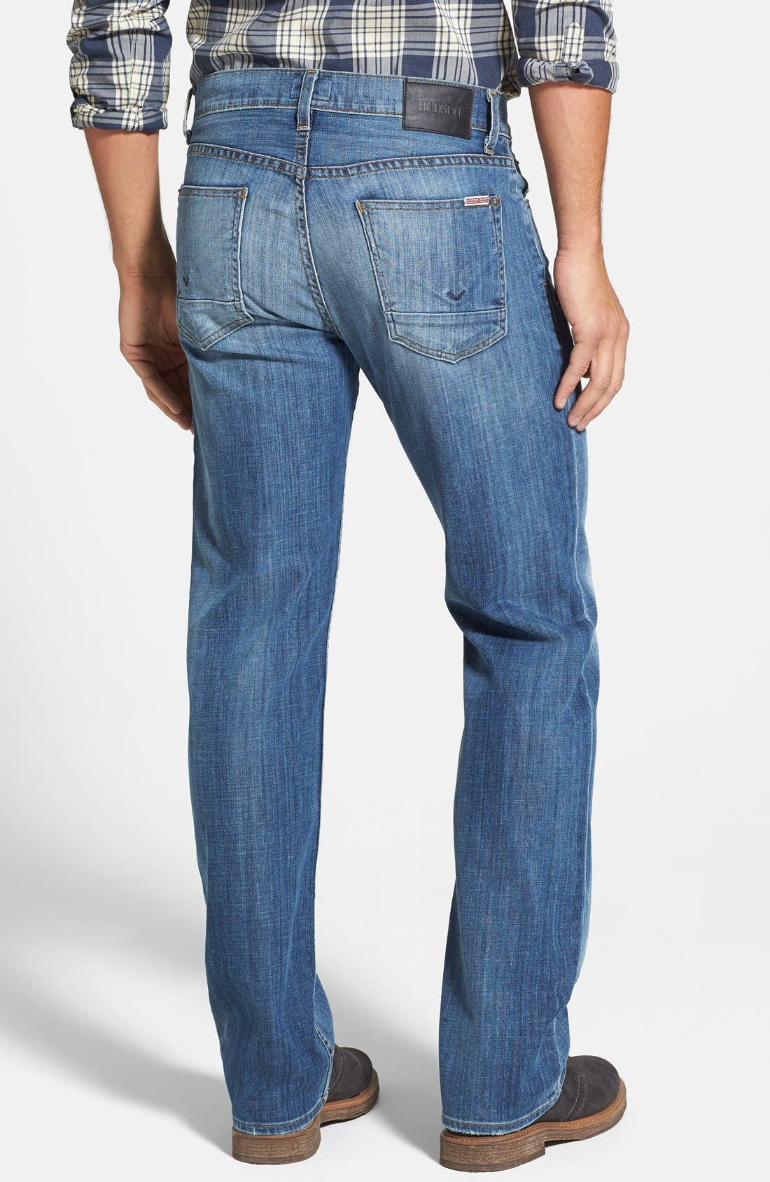 Alternate Image 2  - Hudson Jeans 'Wilde' Relaxed Fit Jeans (Melt Into The Sea)