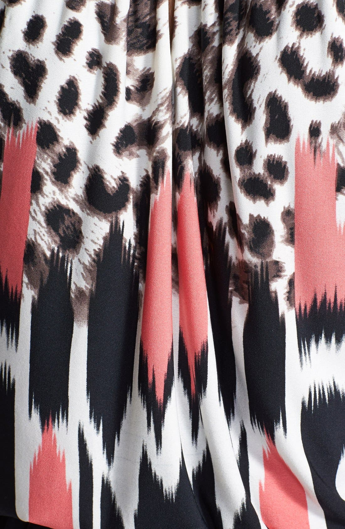 Alternate Image 4  - Maggy London Print Blouson Jersey Dress
