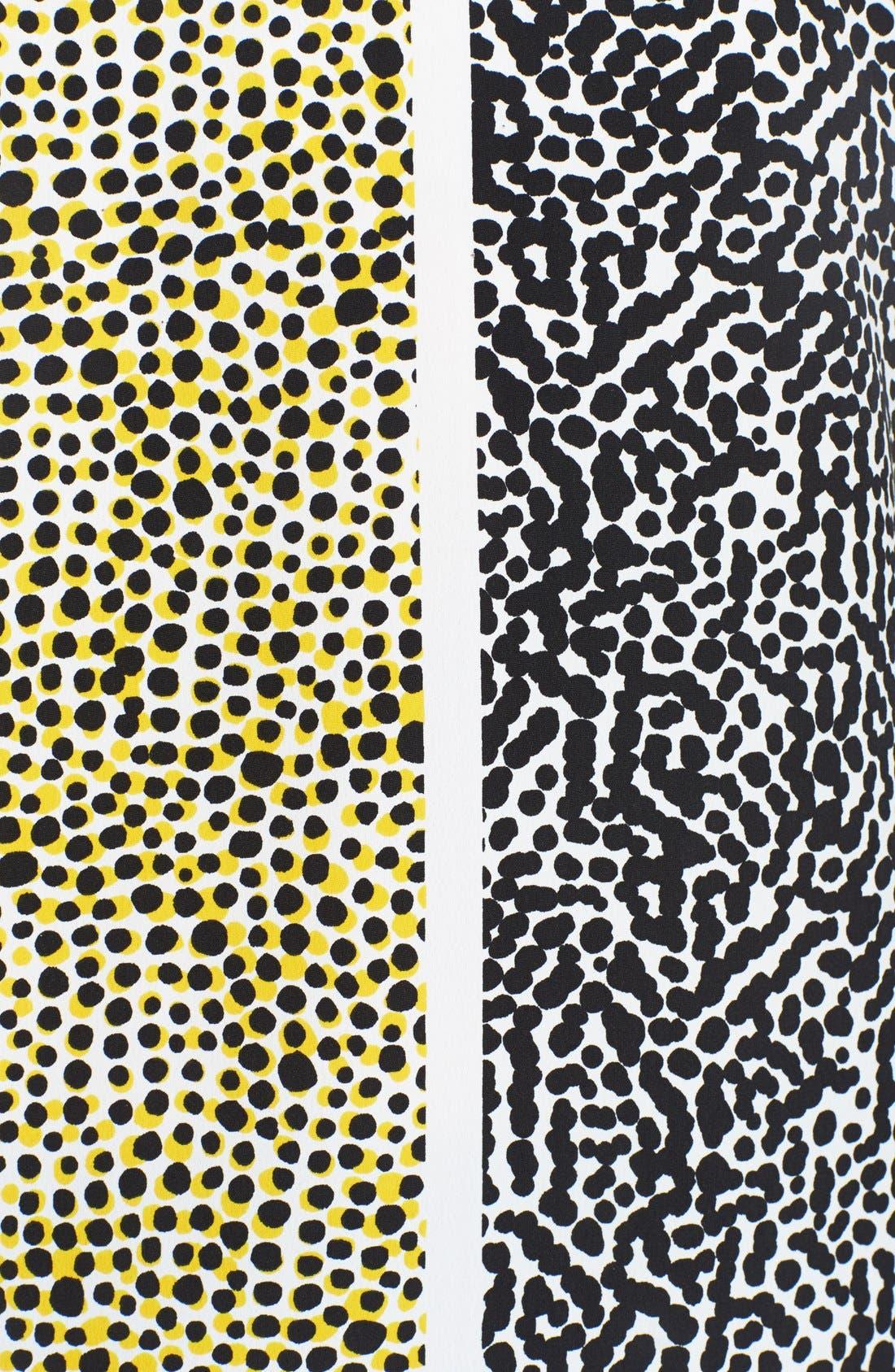 Alternate Image 3  - Vince Camuto Print Sleeveless Blouse (Plus Size)