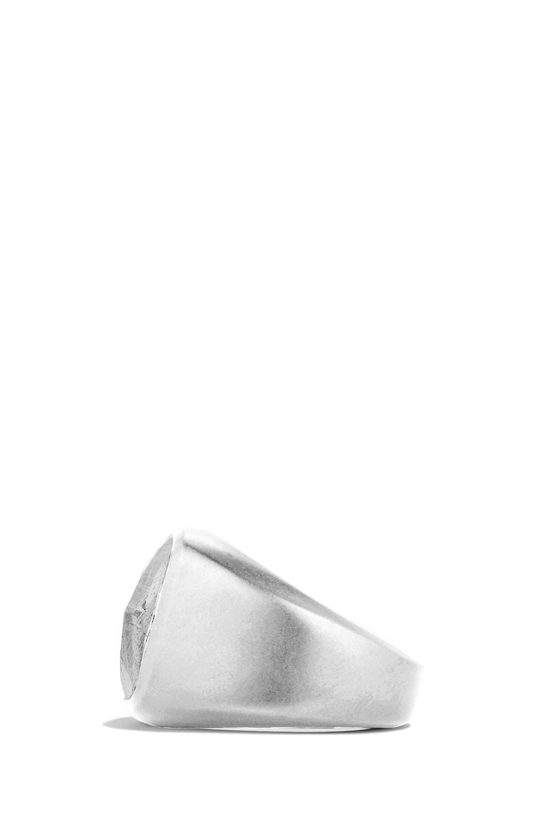 Signet Ring with Meteorite,                             Alternate thumbnail 2, color,                             Meteorite