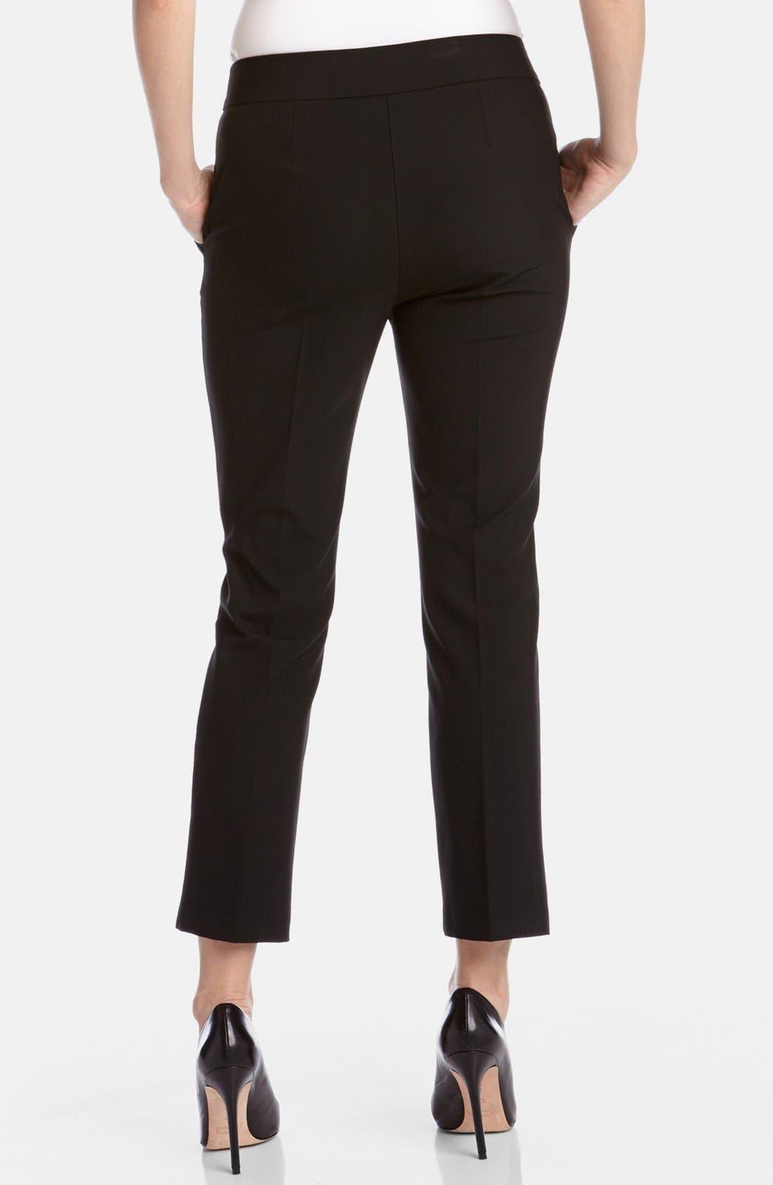 Alternate Image 2  - Karen Kane Slim Crop Pants