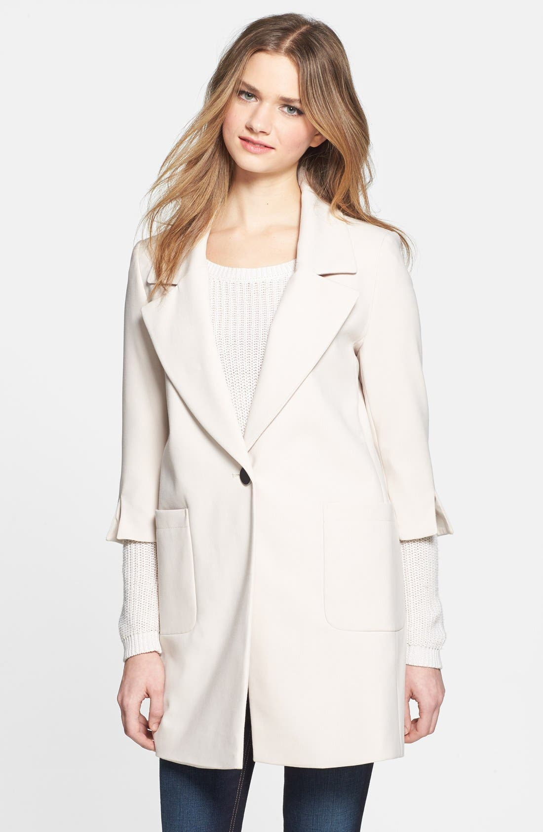 Alternate Image 1 Selected - Elie Tahari 'Jasmine' Boyfriend Blazer-Style Topper