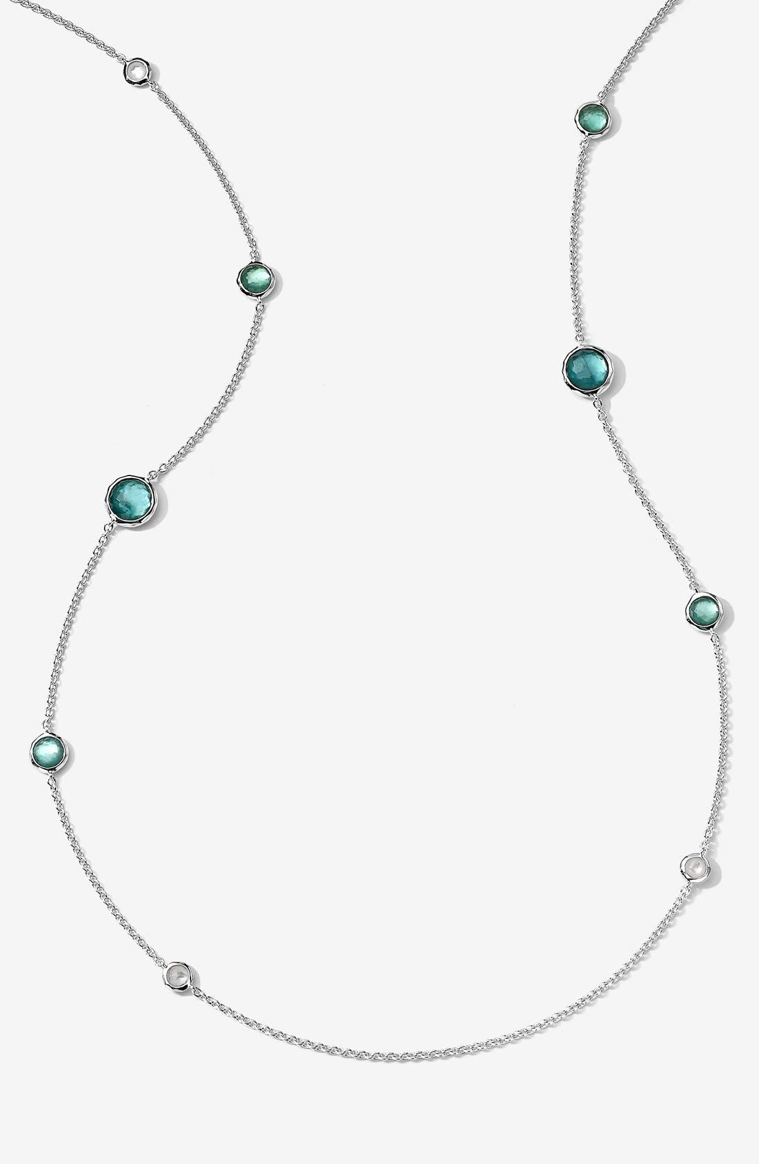 Alternate Image 1 Selected - Ippolita 'Rock Candy - Rainbow Lollipop' Long Station Necklace (Online Only)