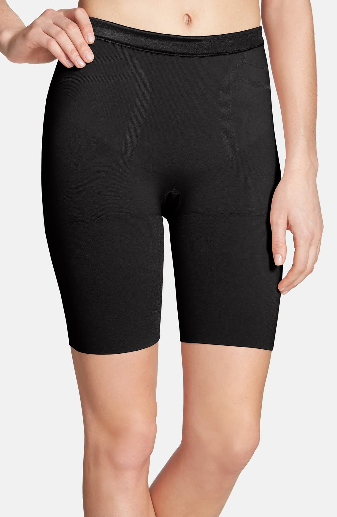Alternate Image 1 Selected - SPANX® 'Slimmer & Shine' Mid Thigh Shaper