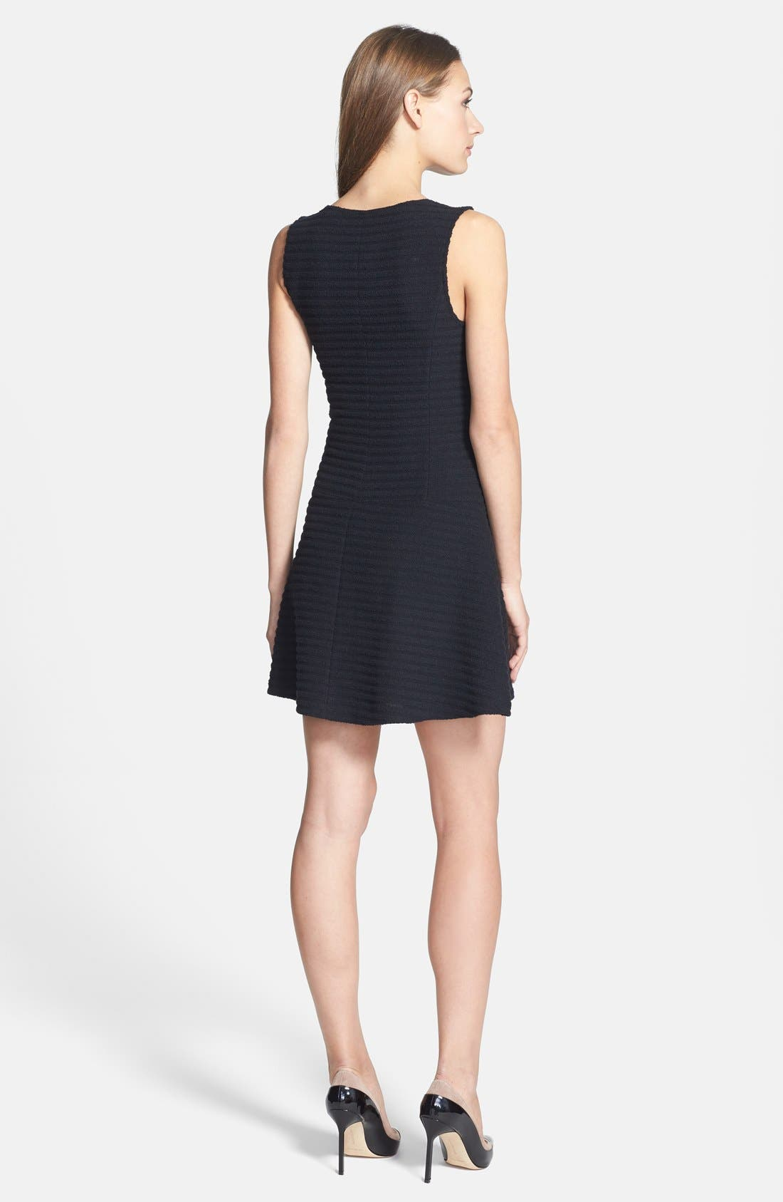 Alternate Image 2  - Theory 'Sayidres' Knit Fit & Flare Dress