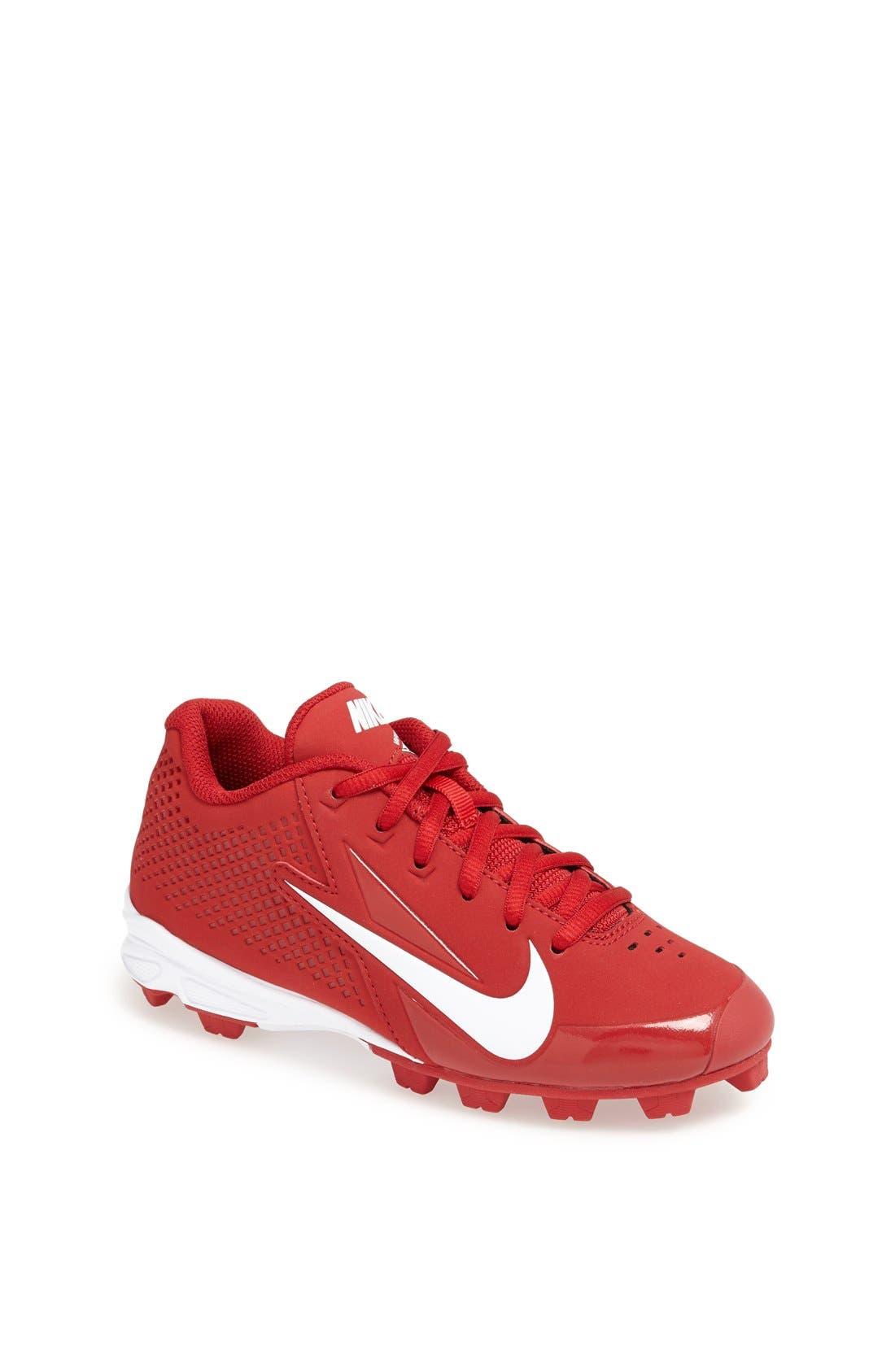 Main Image - Nike \u0027Vapor Keystone Low\u0027 Baseball Cleat (Little Kid \u0026 Big